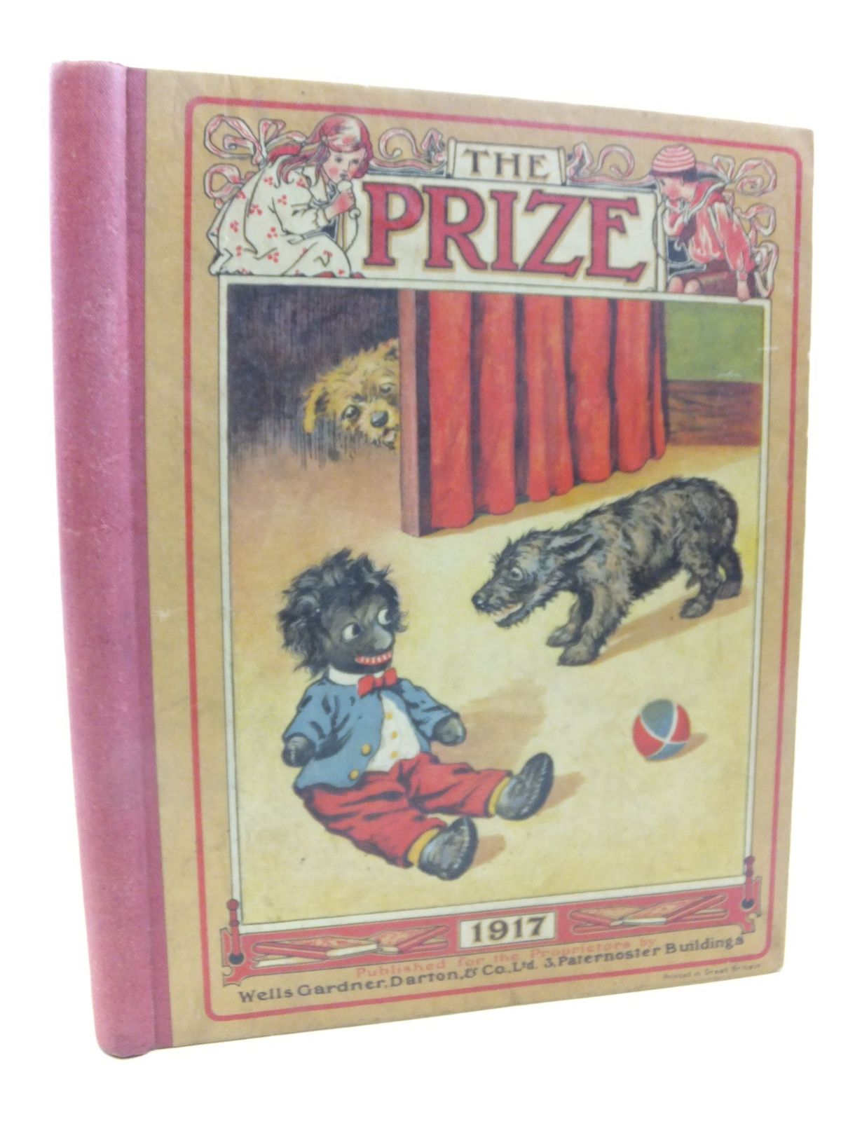 Photo of THE PRIZE FOR GIRLS AND BOYS 1917 published by Wells Gardner, Darton & Co. Ltd. (STOCK CODE: 2118568)  for sale by Stella & Rose's Books