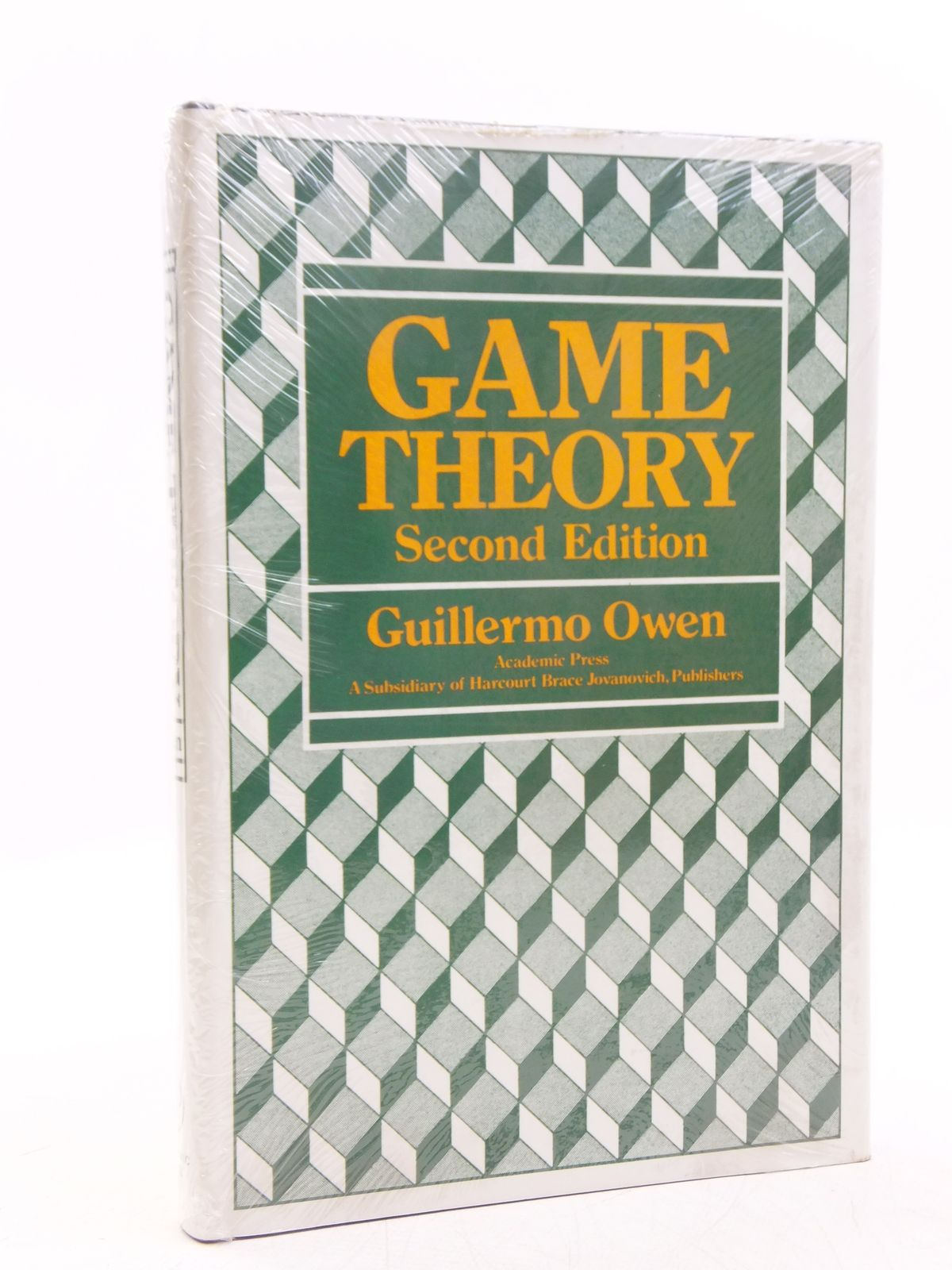 Photo of GAME THEORY written by Owen, Guillermo published by Academic Press (STOCK CODE: 2118867)  for sale by Stella & Rose's Books