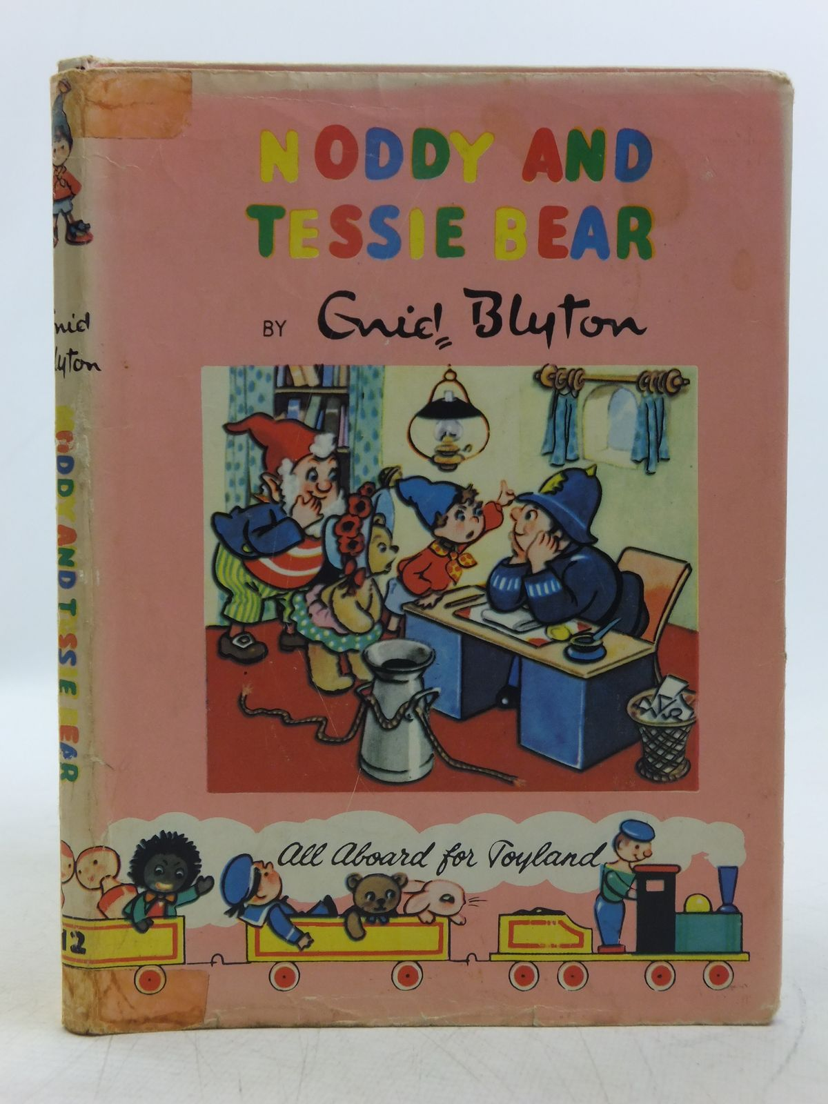 Photo of NODDY AND TESSIE BEAR written by Blyton, Enid illustrated by Lee, Robert published by Sampson Low, Marston & Co. Ltd., The Richards Press (STOCK CODE: 2118913)  for sale by Stella & Rose's Books