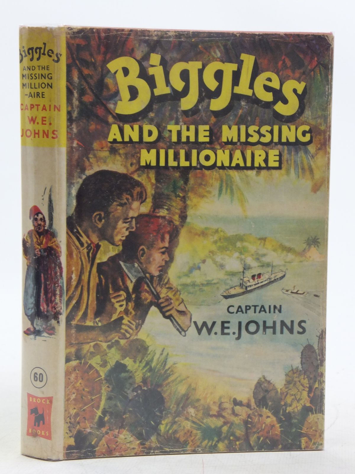 Photo of BIGGLES AND THE MISSING MILLIONAIRE written by Johns, W.E. illustrated by Stead, Leslie published by Brockhampton Press Ltd. (STOCK CODE: 2118955)  for sale by Stella & Rose's Books