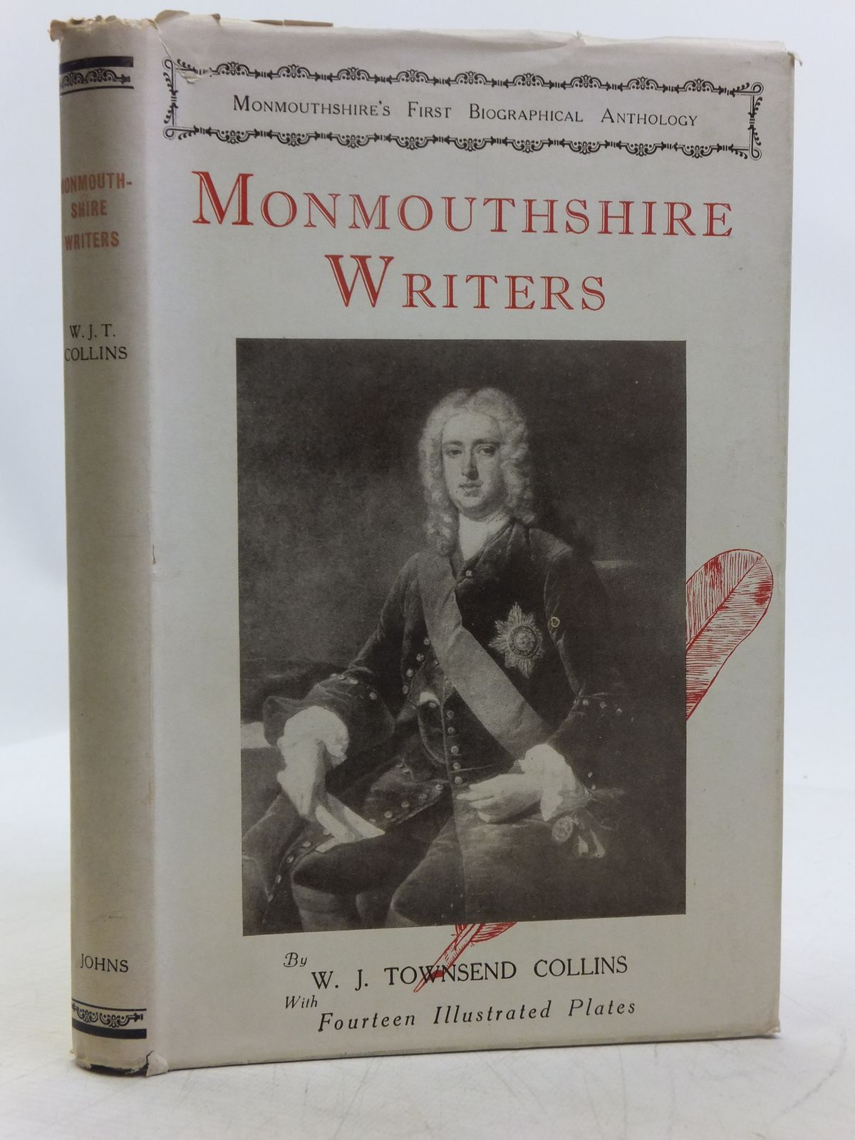 Photo of MONMOUTHSHIRE WRITERS written by Collins, W.J. Townsend published by R.H. Johns Limited (STOCK CODE: 2119028)  for sale by Stella & Rose's Books