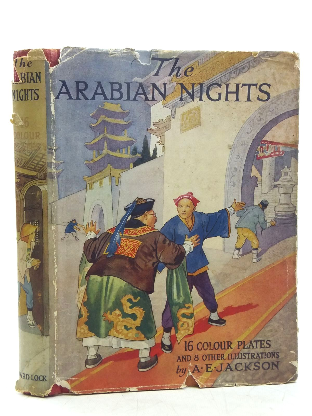 Photo of THE ARABIAN NIGHTS illustrated by Jackson, A.E. published by Ward, Lock & Co. Ltd. (STOCK CODE: 2119079)  for sale by Stella & Rose's Books