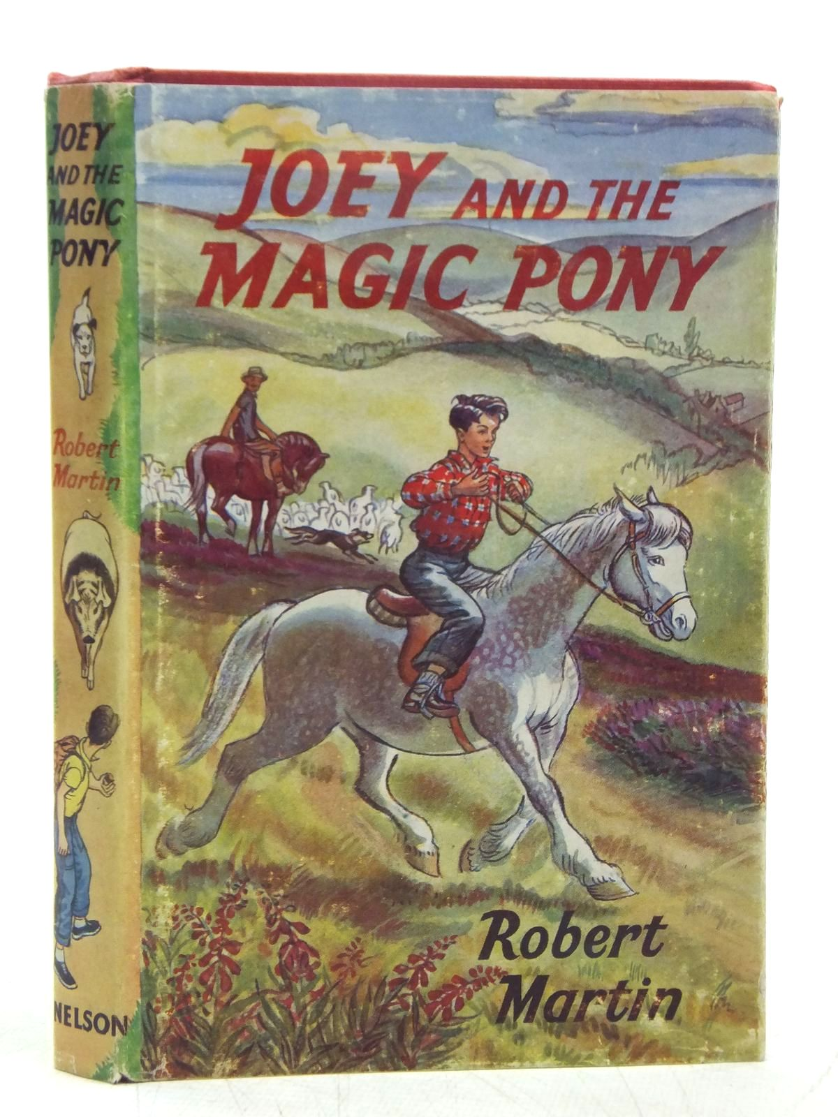 Photo of JOEY AND THE MAGIC PONY written by Martin, Robert illustrated by Freeman, T.R. published by Thomas Nelson and Sons Ltd. (STOCK CODE: 2119133)  for sale by Stella & Rose's Books