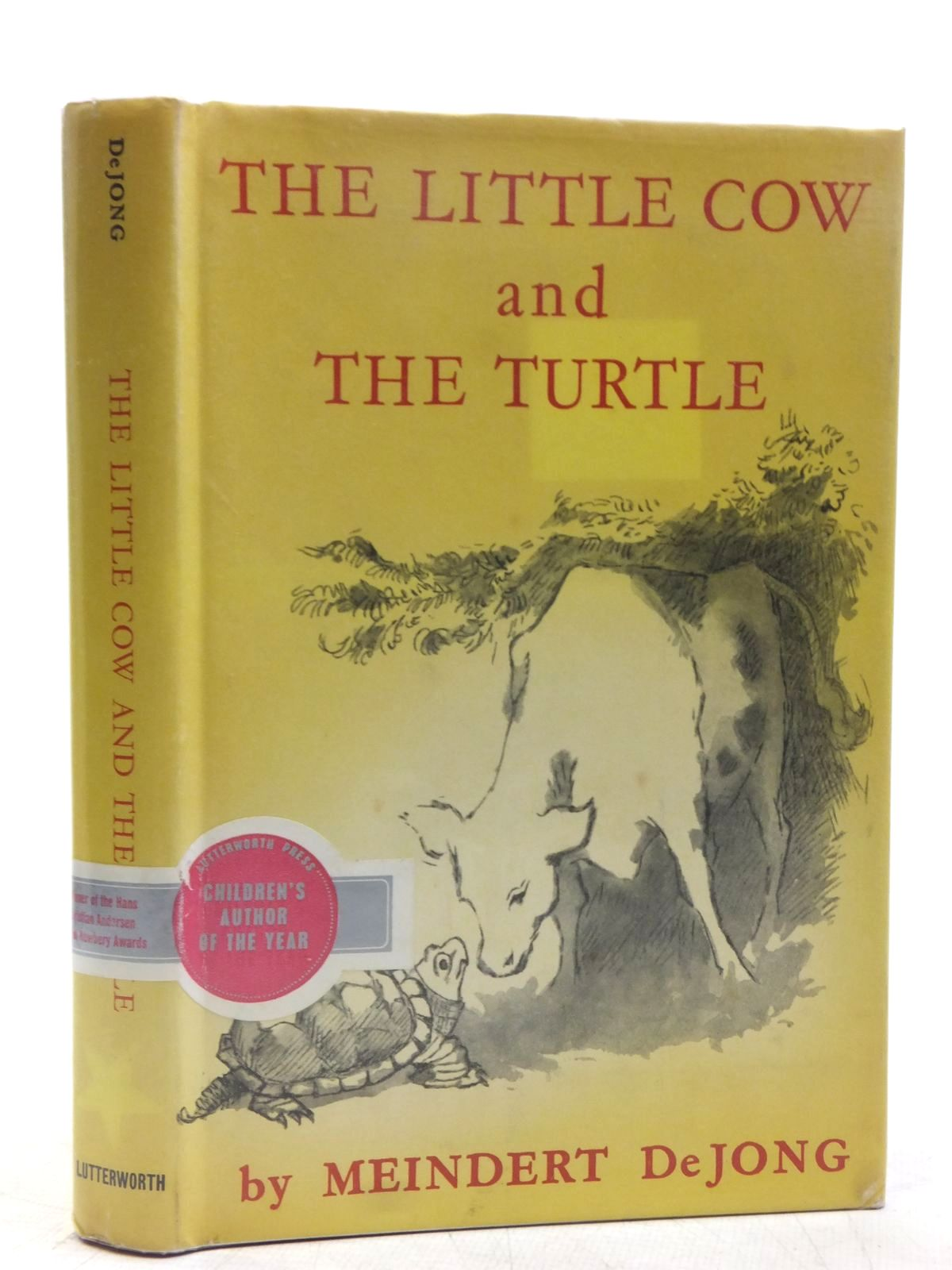 Photo of THE LITTLE COW AND THE TURTLE written by Dejong, Meindert illustrated by Sendak, Maurice published by Lutterworth Press (STOCK CODE: 2119164)  for sale by Stella & Rose's Books