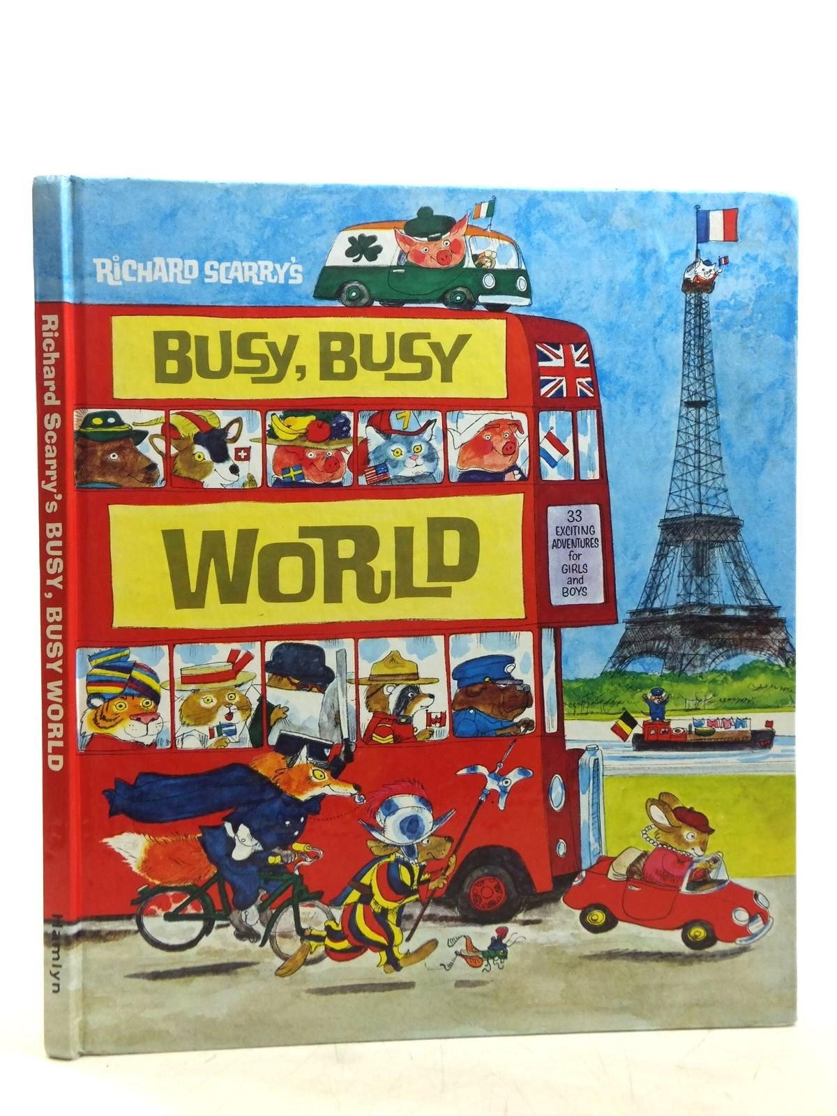 Photo of RICHARD SCARRY'S BUSY, BUSY WORLD written by Scarry, Richard illustrated by Scarry, Richard published by Hamlyn (STOCK CODE: 2119357)  for sale by Stella & Rose's Books