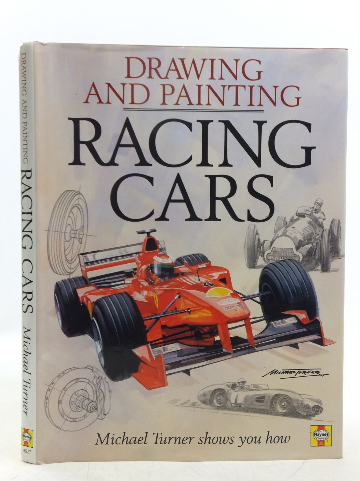 DRAWING AND PAINTING RACING CARS written by Turner, Michael, STOCK ...