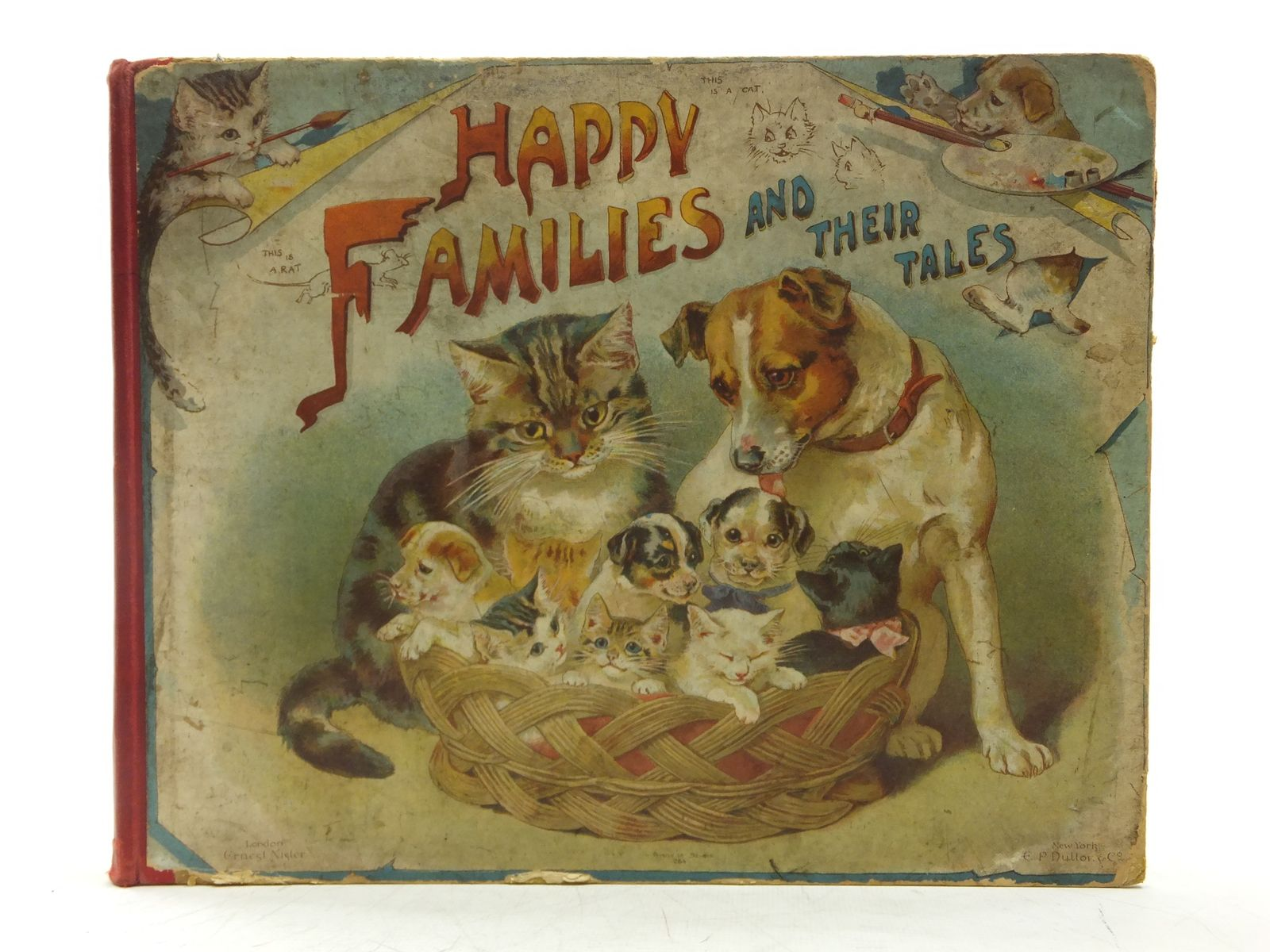 Photo of HAPPY FAMILIES AND THEIR TALES published by Ernest Nister (STOCK CODE: 2119369)  for sale by Stella & Rose's Books