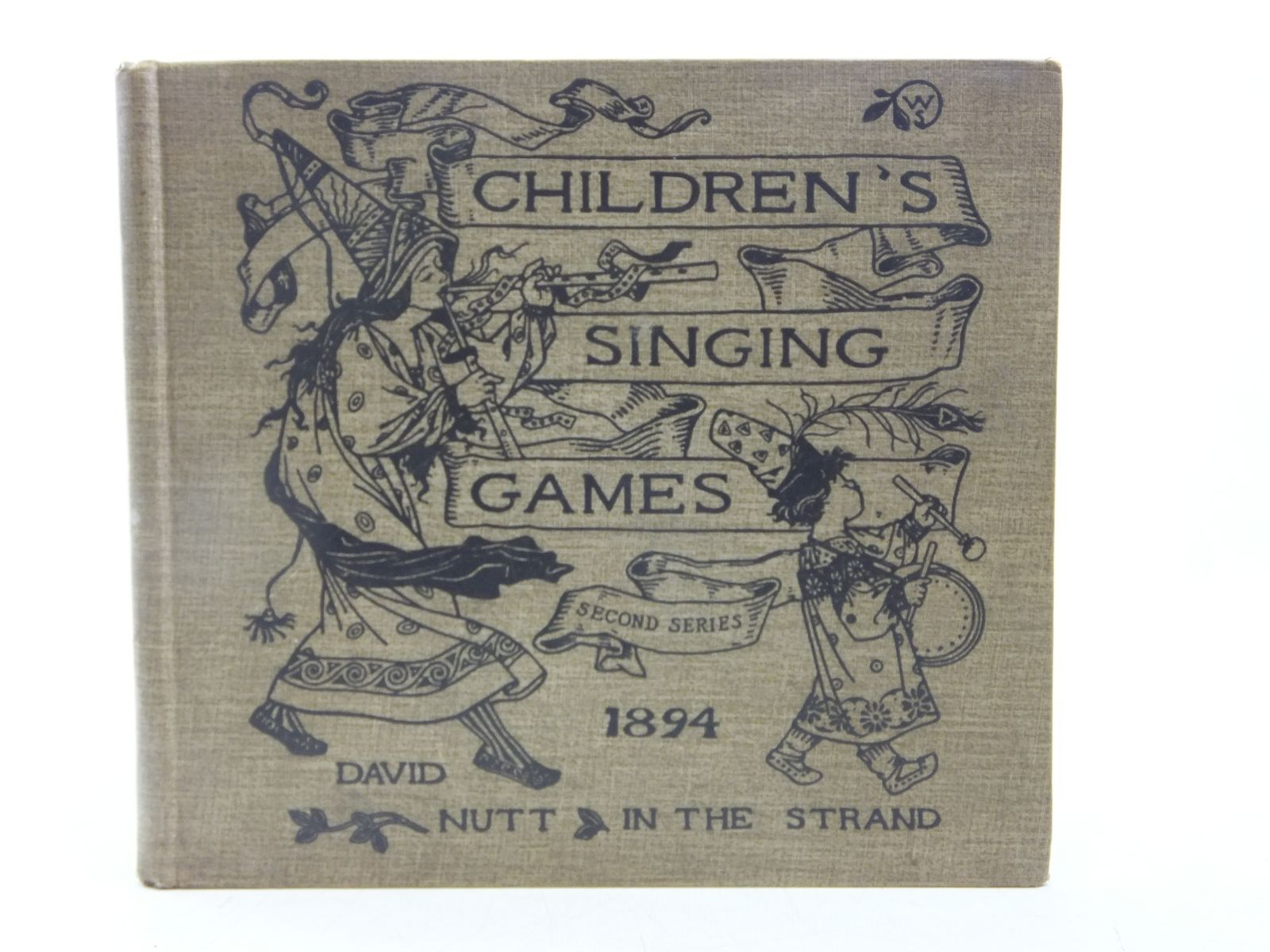 Photo of CHILDREN'S SINGING GAMES written by Gomme, Alice B. illustrated by Smith, Winifred published by David Nutt (STOCK CODE: 2119375)  for sale by Stella & Rose's Books