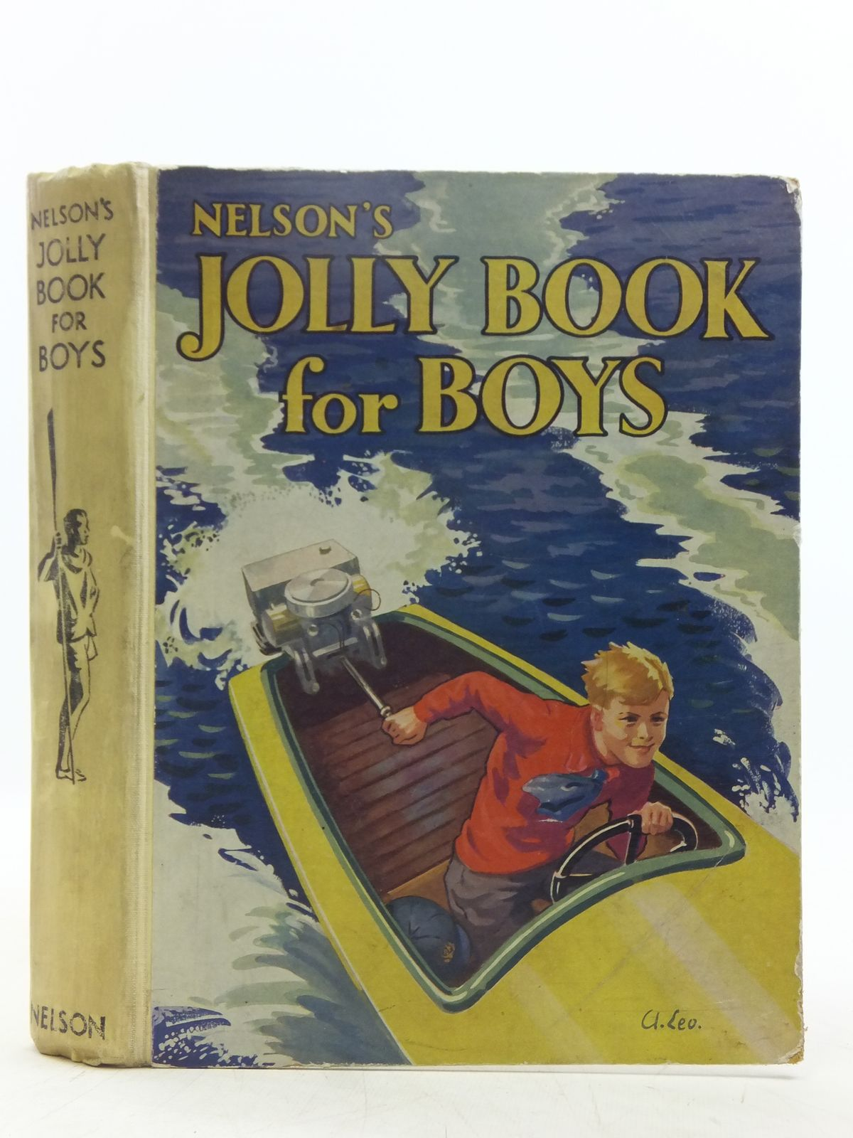 Photo of NELSON'S JOLLY BOOK FOR BOYS written by Chisholm, Edwin<br />Charlcot, C.<br />Rutley, C. Bernard<br />Draper, Ben<br />et al, published by Thomas Nelson and Sons Ltd. (STOCK CODE: 2119433)  for sale by Stella & Rose's Books