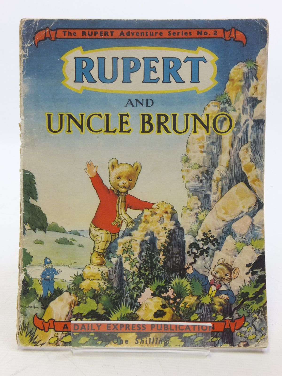 Photo of RUPERT ADVENTURE SERIES No. 2 - RUPERT AND UNCLE BRUNO written by Bestall, Alfred illustrated by Bestall, Alfred published by Daily Express (STOCK CODE: 2119446)  for sale by Stella & Rose's Books