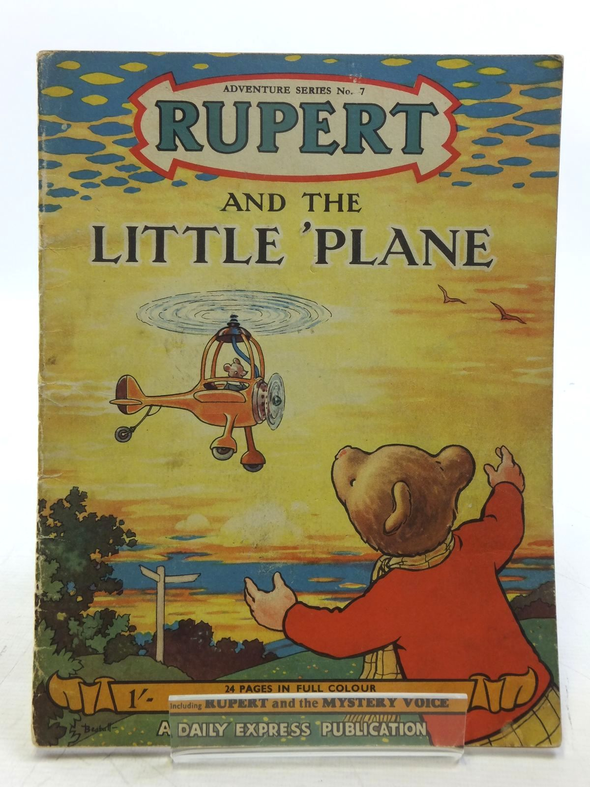 Photo of RUPERT ADVENTURE SERIES No. 7 - RUPERT AND THE LITTLE PLANE written by Bestall, Alfred illustrated by Bestall, Alfred published by Daily Express (STOCK CODE: 2119447)  for sale by Stella & Rose's Books