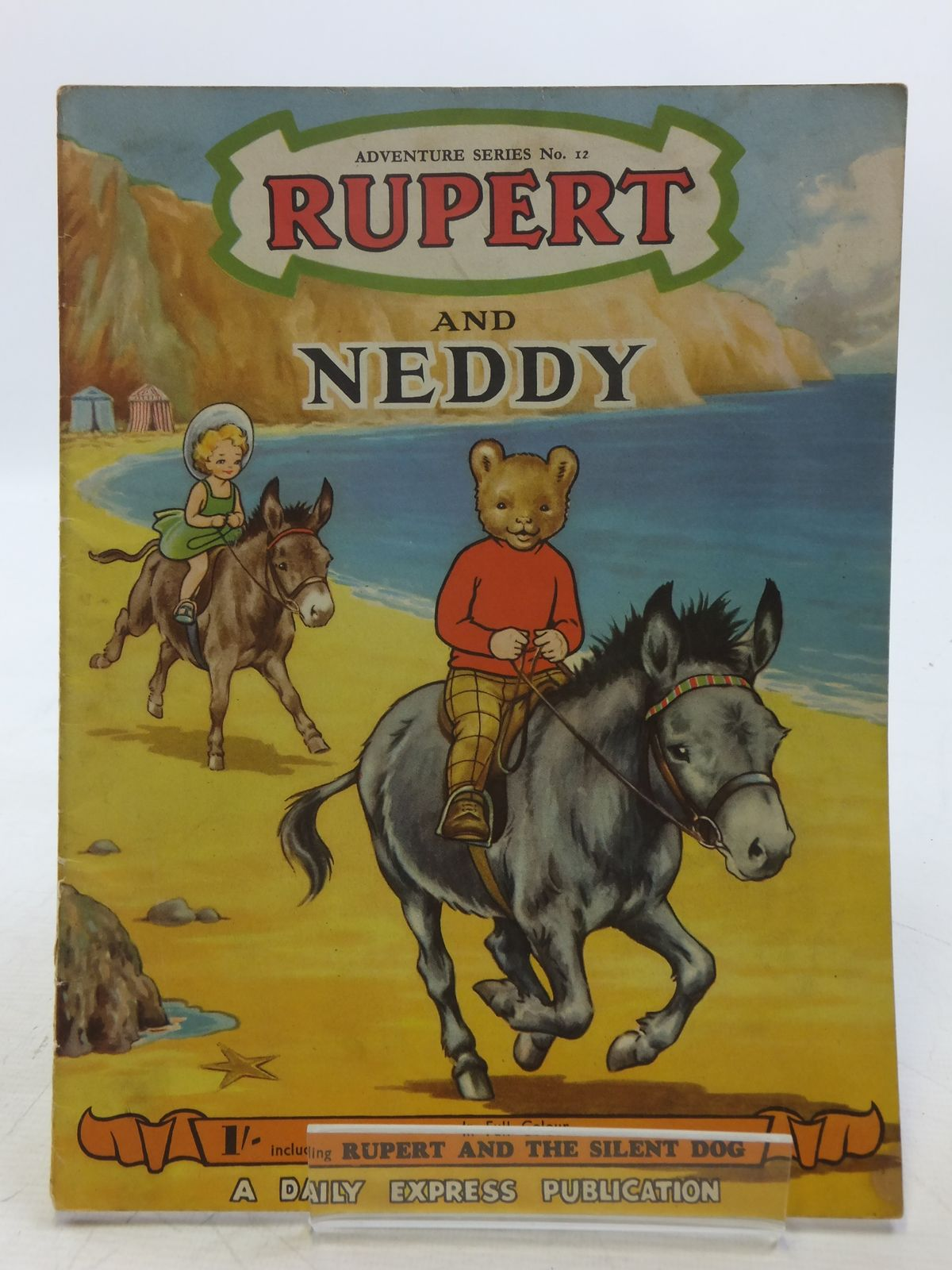 Photo of RUPERT ADVENTURE SERIES No. 12 - RUPERT AND NEDDY written by Bestall, Alfred illustrated by Ash, Enid<br />Bestall, Alfred published by Daily Express (STOCK CODE: 2119448)  for sale by Stella & Rose's Books