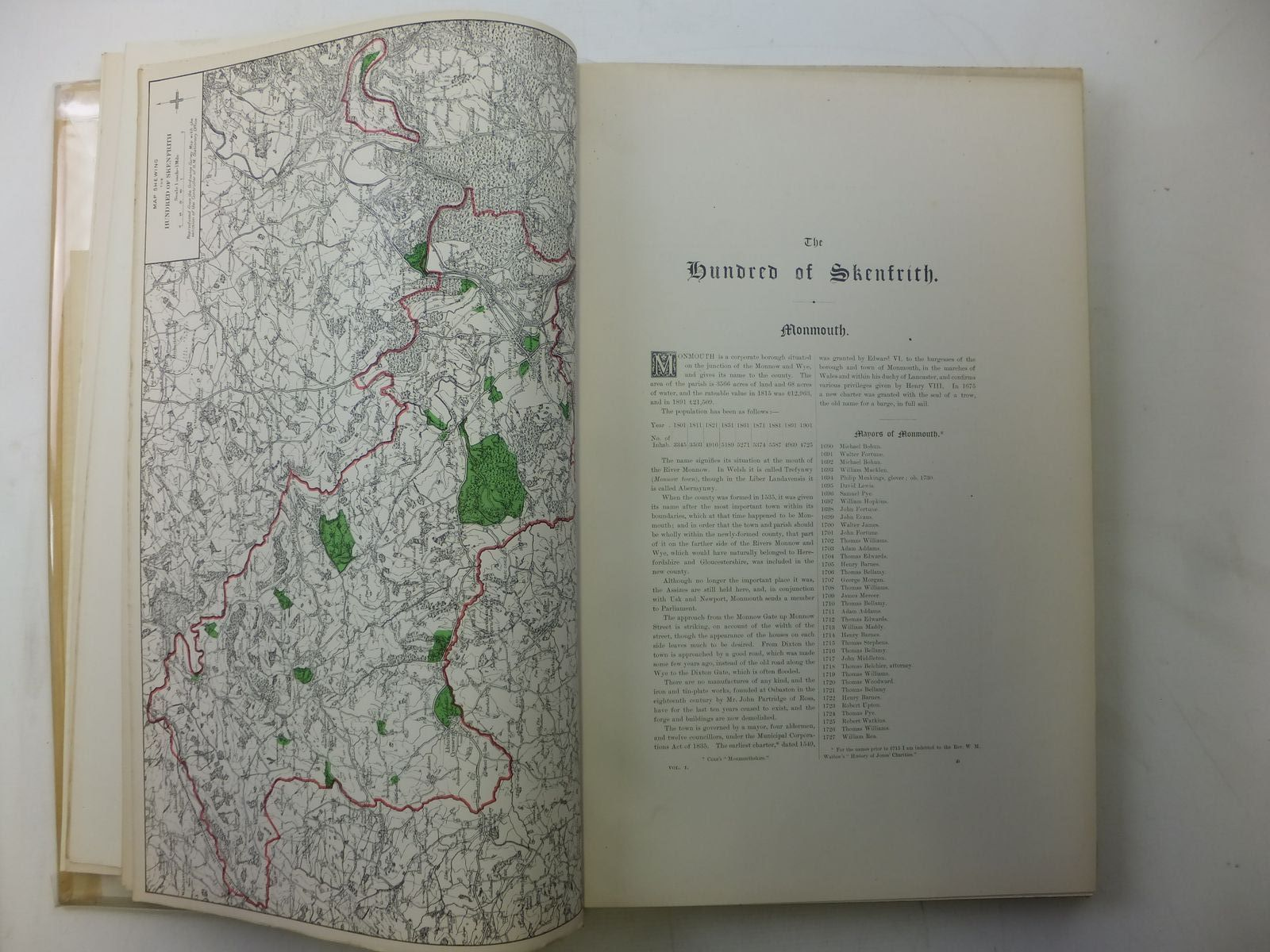 Photo of A HISTORY OF MONMOUTHSHIRE written by Bradney, Joseph published by Mitchell Hughes and Clarke (STOCK CODE: 2119555)  for sale by Stella & Rose's Books