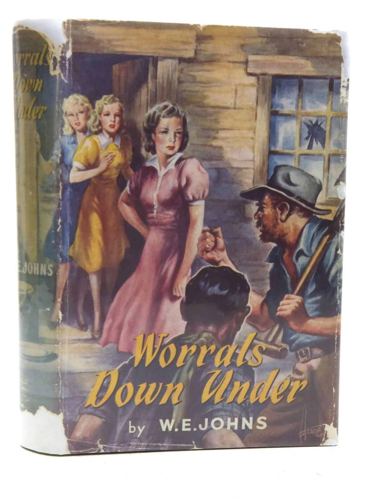 Photo of WORRALS DOWN UNDER written by Johns, W.E. published by Lutterworth Press (STOCK CODE: 2119731)  for sale by Stella & Rose's Books