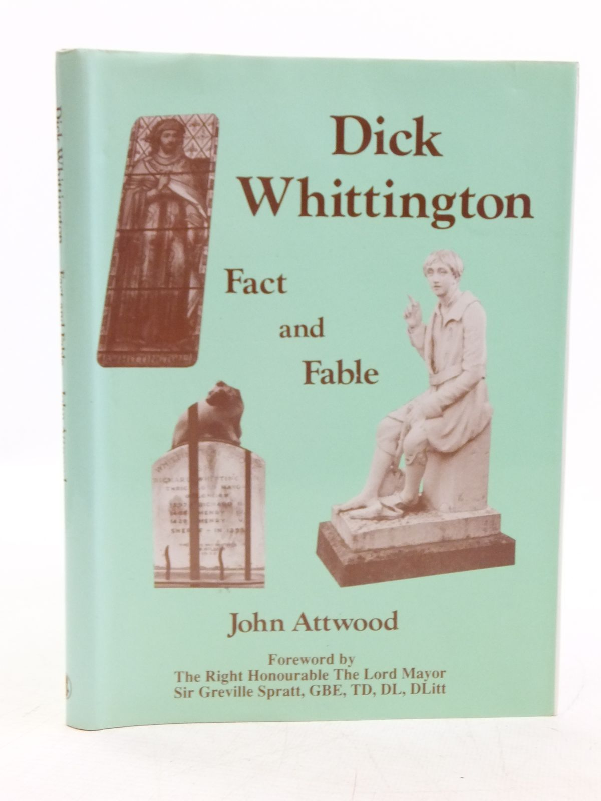 Photo of DICK WHITTINGTON FACT AND FABLE written by Attwood, John published by Regency Press (STOCK CODE: 2119732)  for sale by Stella & Rose's Books