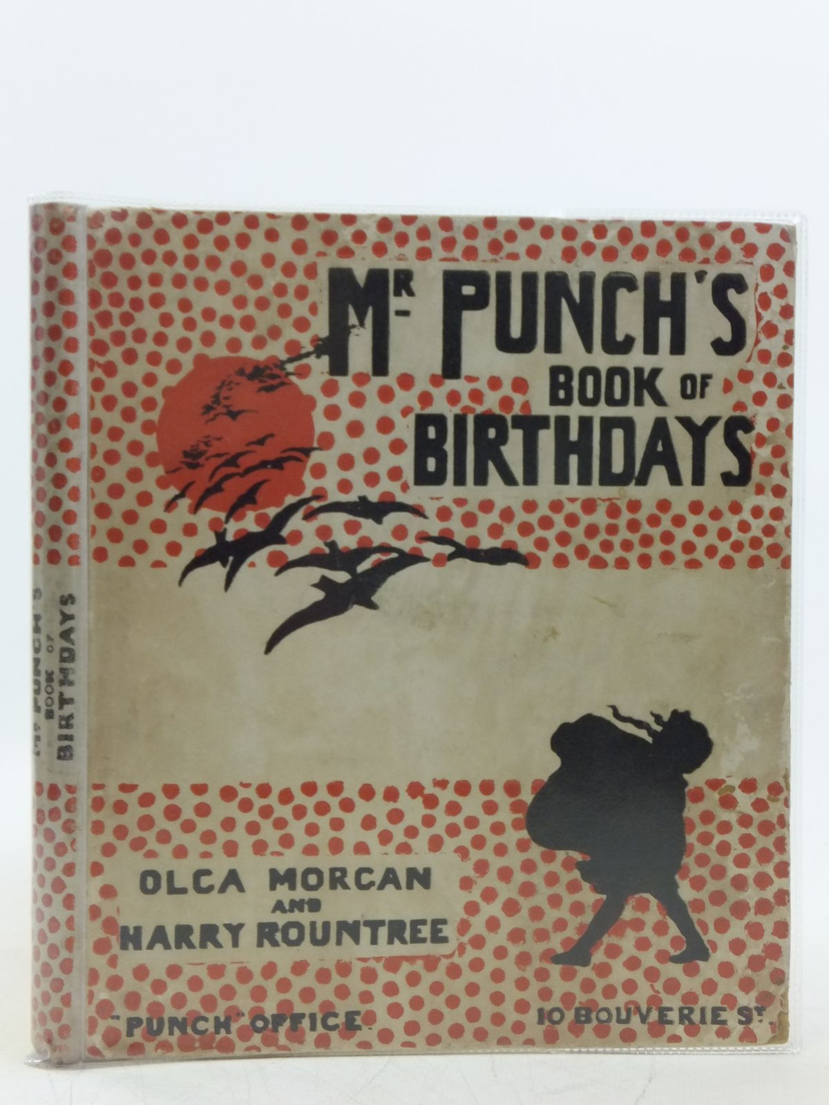 Photo of MR. PUNCH'S BOOK OF BIRTHDAYS written by Morgan, Olga illustrated by Rountree, Harry published by Punch (STOCK CODE: 2119891)  for sale by Stella & Rose's Books