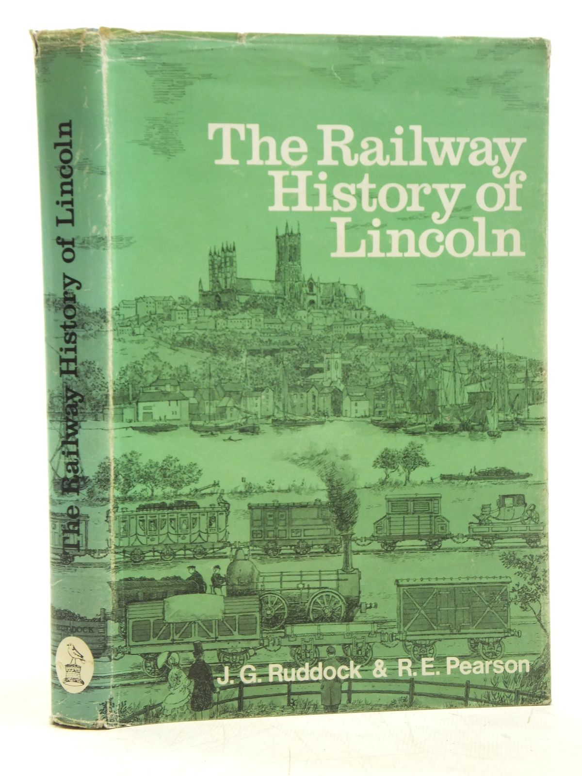 Photo of THE RAILWAY HISTORY OF LINCOLN written by Ruddock, J.G.<br />Pearson, R.E. published by J. Ruddock Ltd (STOCK CODE: 2119982)  for sale by Stella & Rose's Books