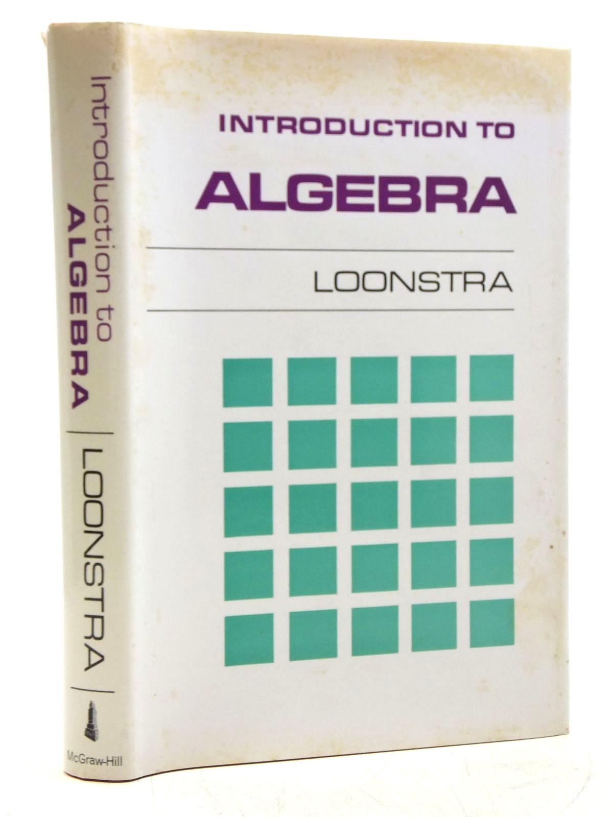 Photo of INTRODUCTION TO ALGEBRA written by Loonstra, F. published by McGraw-Hill (STOCK CODE: 2120137)  for sale by Stella & Rose's Books