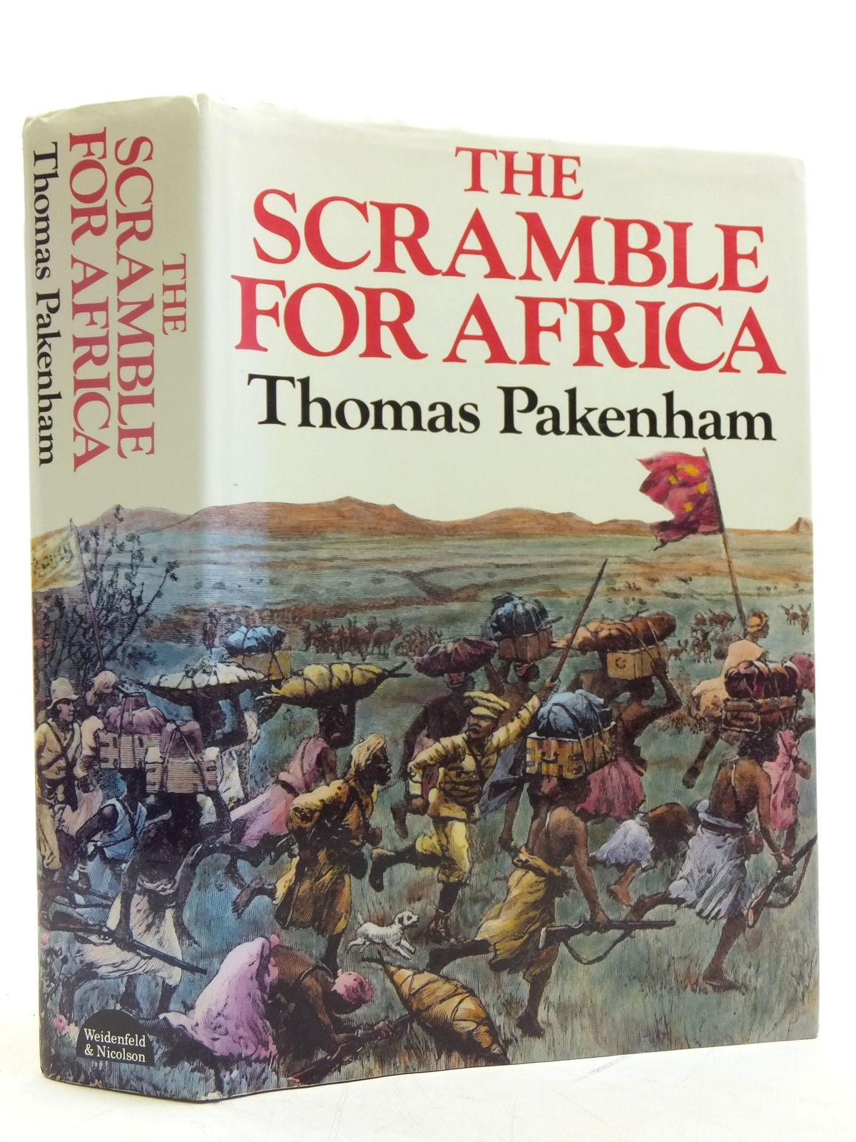 Photo of THE SCRAMBLE FOR AFRICA written by Pakenham, Thomas published by Weidenfeld and Nicolson (STOCK CODE: 2120378)  for sale by Stella & Rose's Books