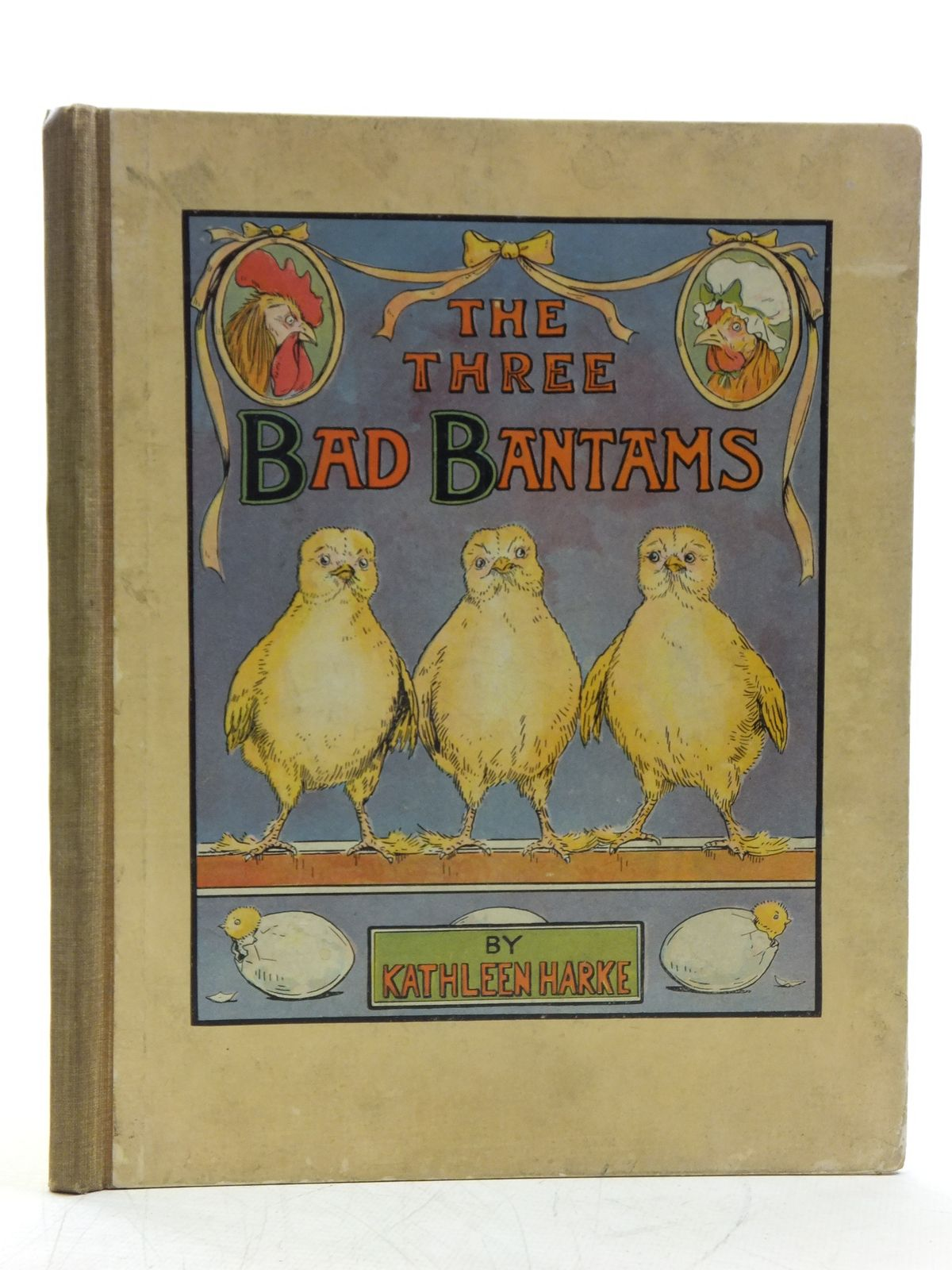 Photo of THE THREE BAD BANTAMS written by Harke, Kathleen Mv. illustrated by Harke, Kathleen M.V. published by Valentine & Sons Ltd. (STOCK CODE: 2120398)  for sale by Stella & Rose's Books