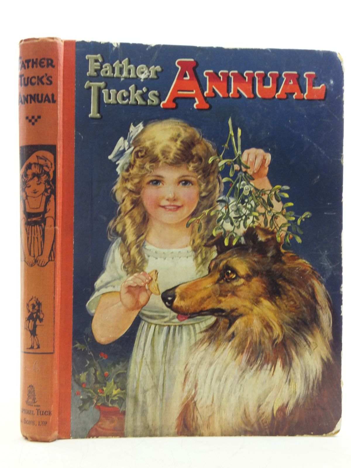 Photo of FATHER TUCK'S ANNUAL - 26TH YEAR written by Gale, Norman<br />Attwell, Jessie<br />et al,  illustrated by Wain, Louis<br />Cowham, Hilda<br />Dixon, Arthur A.<br />et al.,  published by Raphael Tuck & Sons Ltd. (STOCK CODE: 2120401)  for sale by Stella & Rose's Books