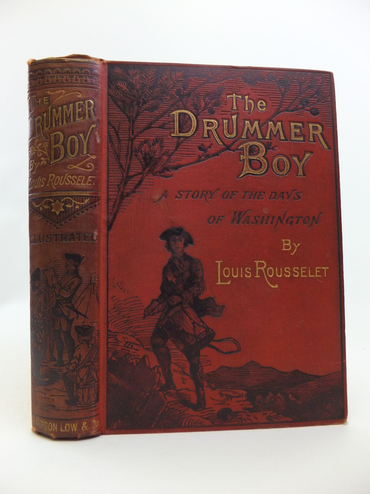 Photo of THE DRUMMER BOY written by Rousselet, Louis<br />Gordon, W.J. illustrated by Poirson, V.A. published by Sampson Low, Marston, Searle, & Rivington (STOCK CODE: 2120770)  for sale by Stella & Rose's Books