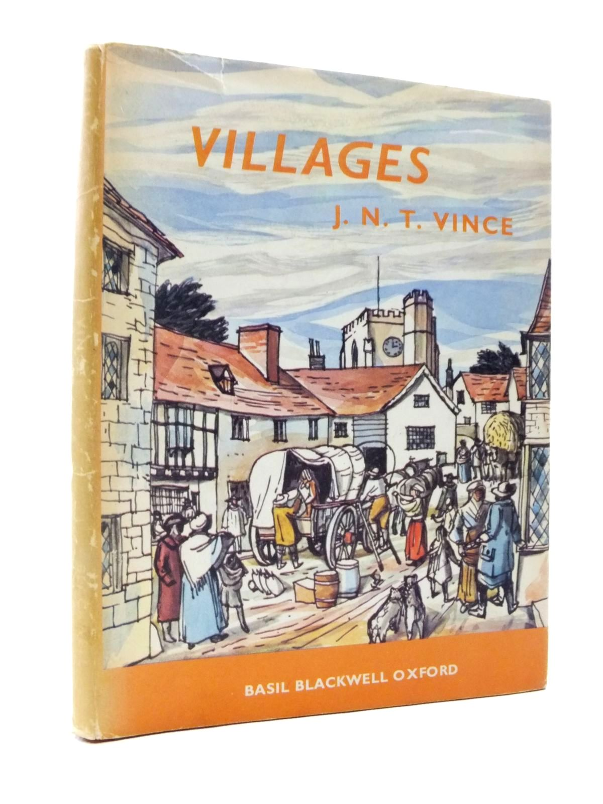 Photo of VILLAGES written by Vince, John N.T. illustrated by Hill, W.G.D. published by Basil Blackwell (STOCK CODE: 2120798)  for sale by Stella & Rose's Books
