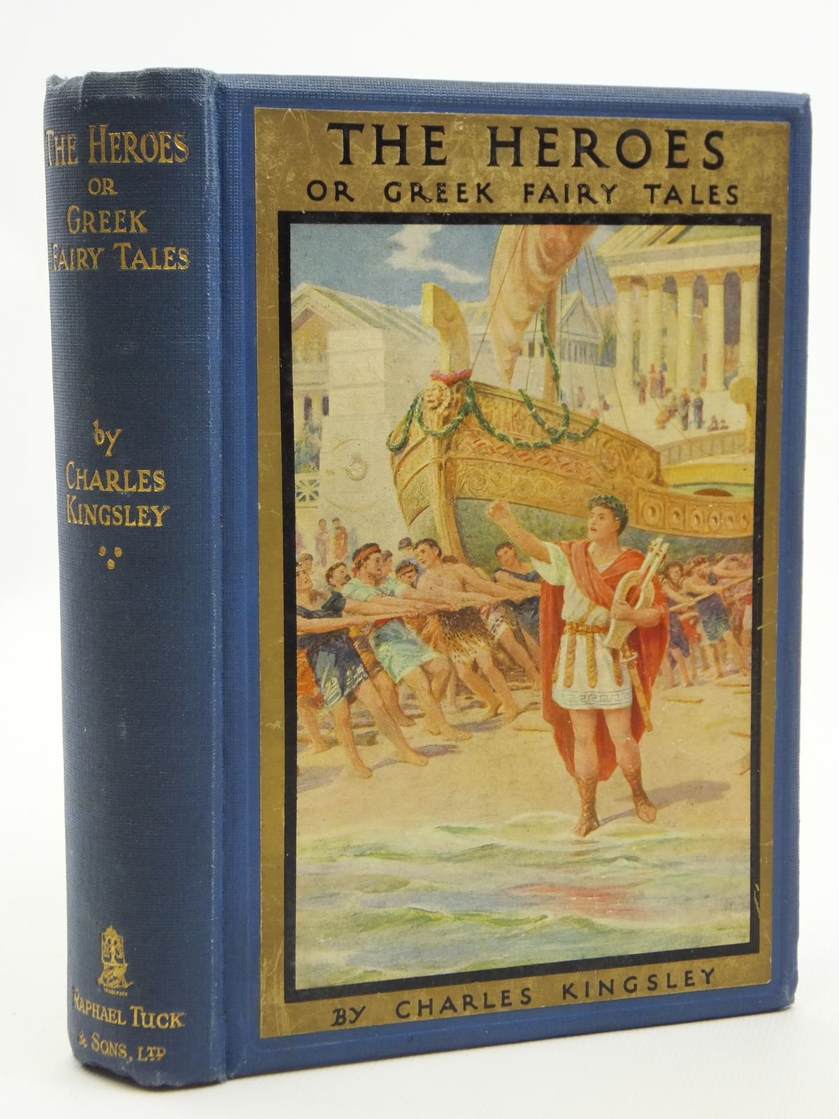 Photo of THE HEROES OR GREEK FAIRY TALES
