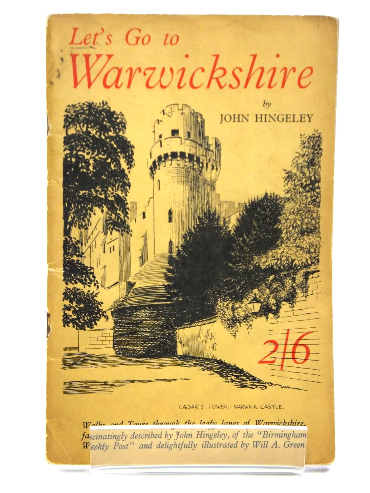 Photo of LET'S GO TO WARWICKSHIRE written by Hingeley, John illustrated by Green, Will A. published by Thomas's Publications Ltd. (STOCK CODE: 2120980)  for sale by Stella & Rose's Books