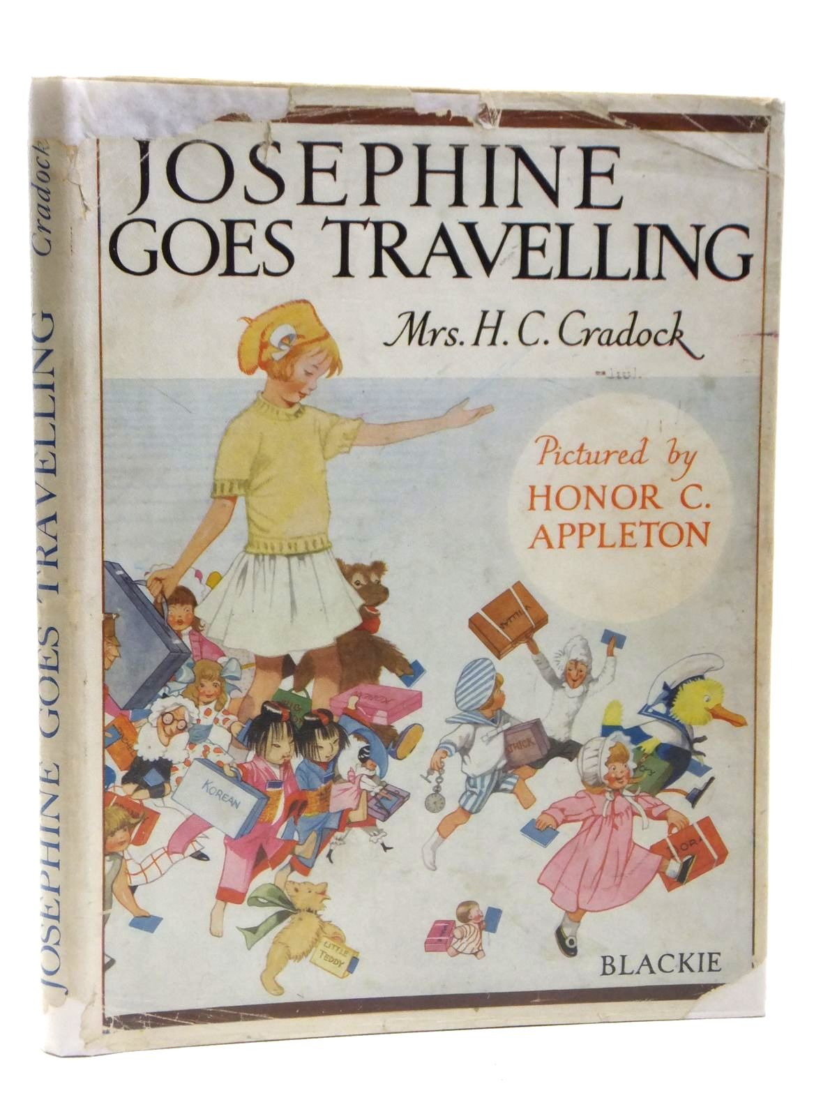 Photo of JOSEPHINE GOES TRAVELLING written by Cradock, Mrs. H.C. illustrated by Appleton, Honor C. published by Blackie & Son Ltd. (STOCK CODE: 2120997)  for sale by Stella & Rose's Books