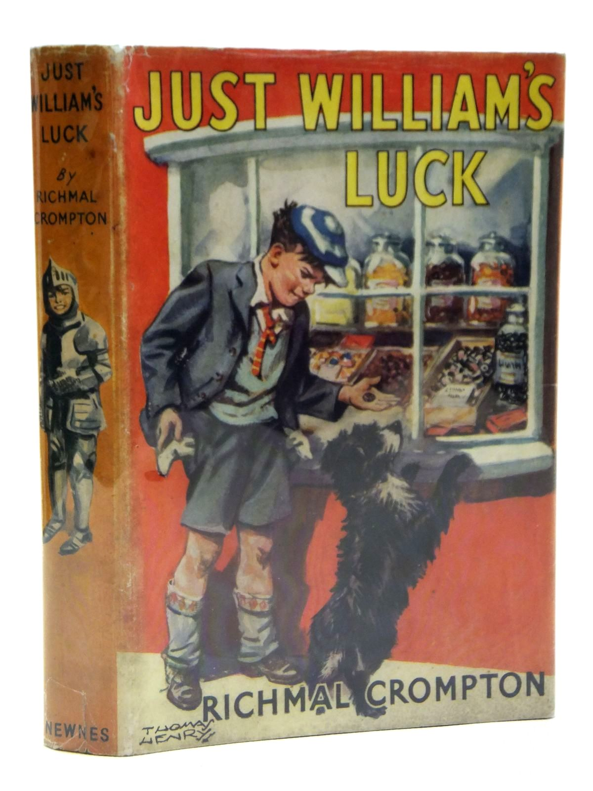 Photo of JUST WILLIAM'S LUCK written by Crompton, Richmal illustrated by Henry, Thomas published by George Newnes Ltd. (STOCK CODE: 2121193)  for sale by Stella & Rose's Books
