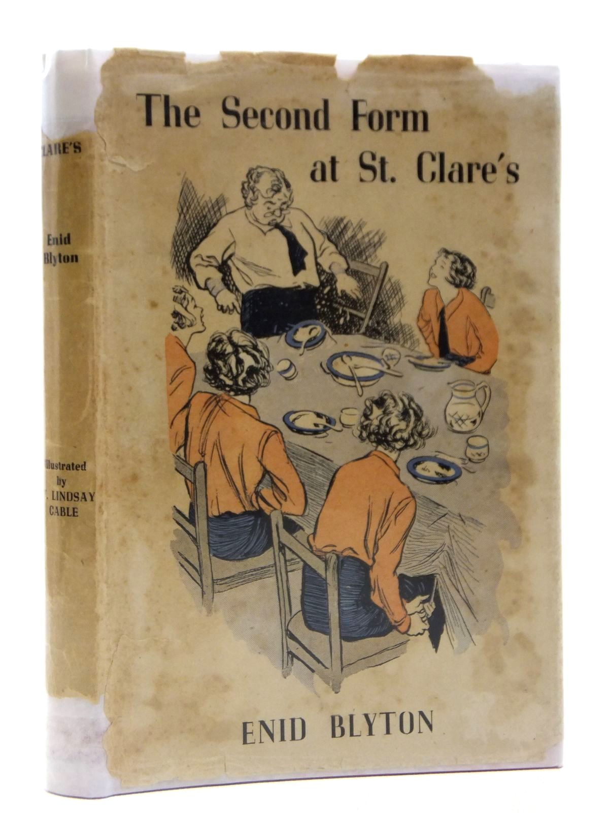 Photo of THE SECOND FORM AT ST. CLARE'S written by Blyton, Enid illustrated by Cable, W. Lindsay published by Methuen & Co. Ltd. (STOCK CODE: 2121205)  for sale by Stella & Rose's Books