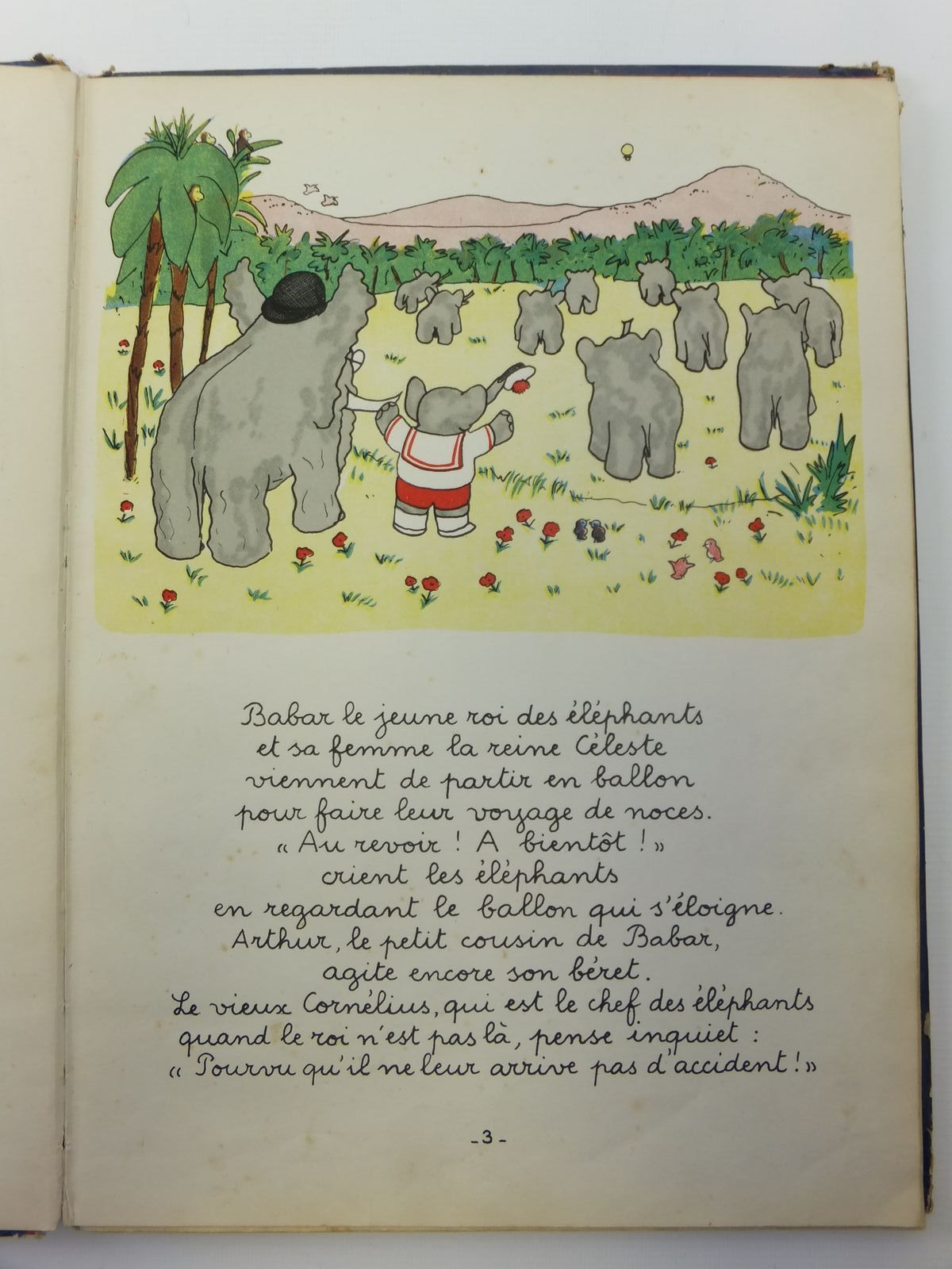 Photo of LE VOYAGE DE BABAR written by De Brunhoff, Jean illustrated by De Brunhoff, Jean published by Editions Du Jardin Des Modes (STOCK CODE: 2121222)  for sale by Stella & Rose's Books