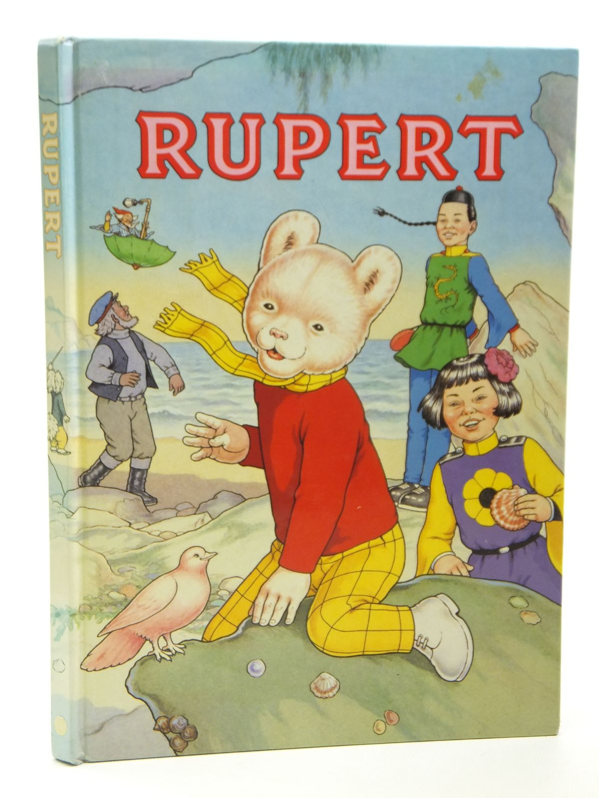 Photo of RUPERT ANNUAL 1991 written by Henderson, James<br />Robinson, Ian illustrated by Harrold, John<br />Bestall, Alfred published by Daily Express (STOCK CODE: 2121295)  for sale by Stella & Rose's Books