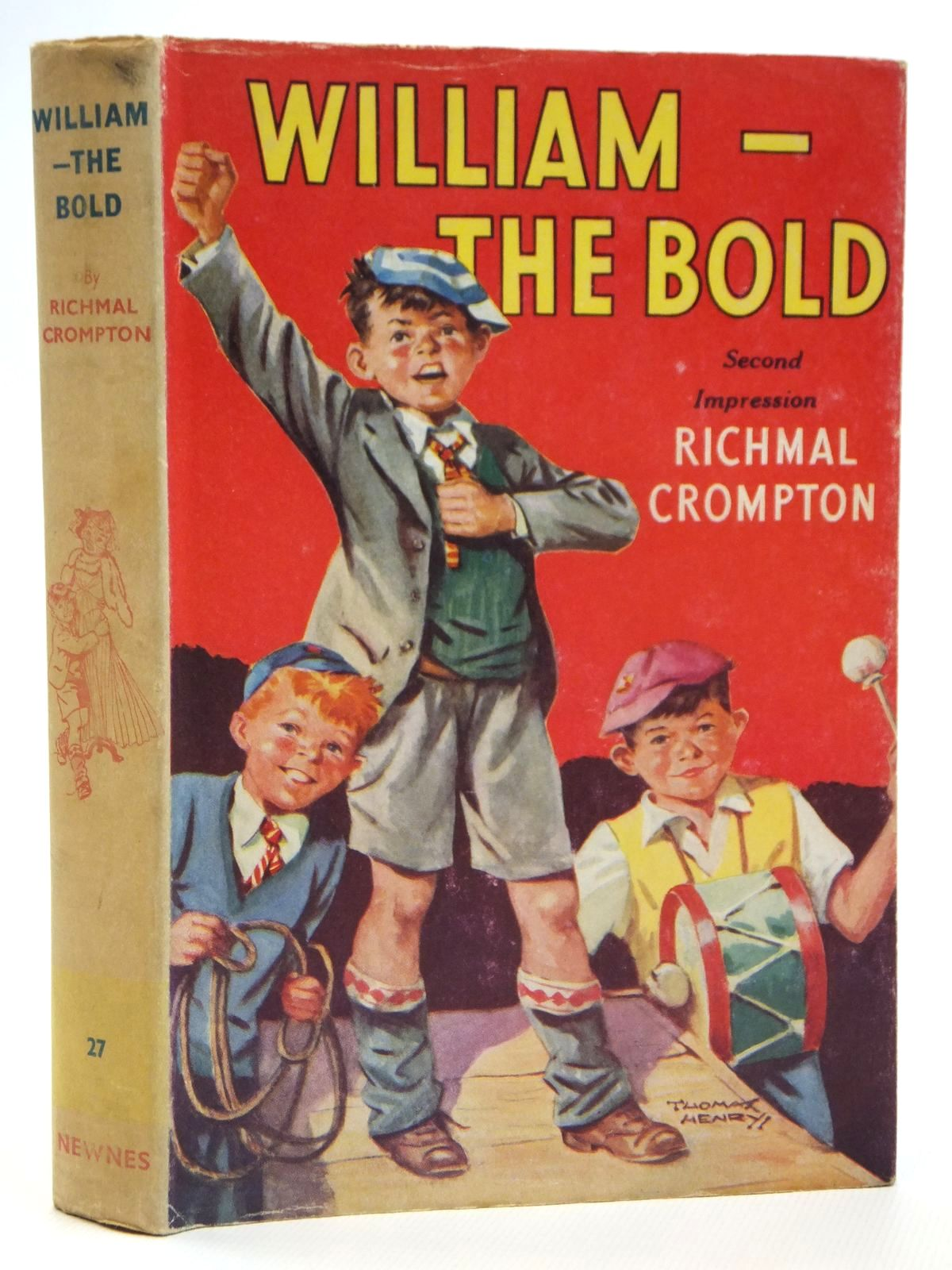 Photo of WILLIAM-THE BOLD written by Crompton, Richmal illustrated by Henry, Thomas published by George Newnes Ltd. (STOCK CODE: 2121460)  for sale by Stella & Rose's Books