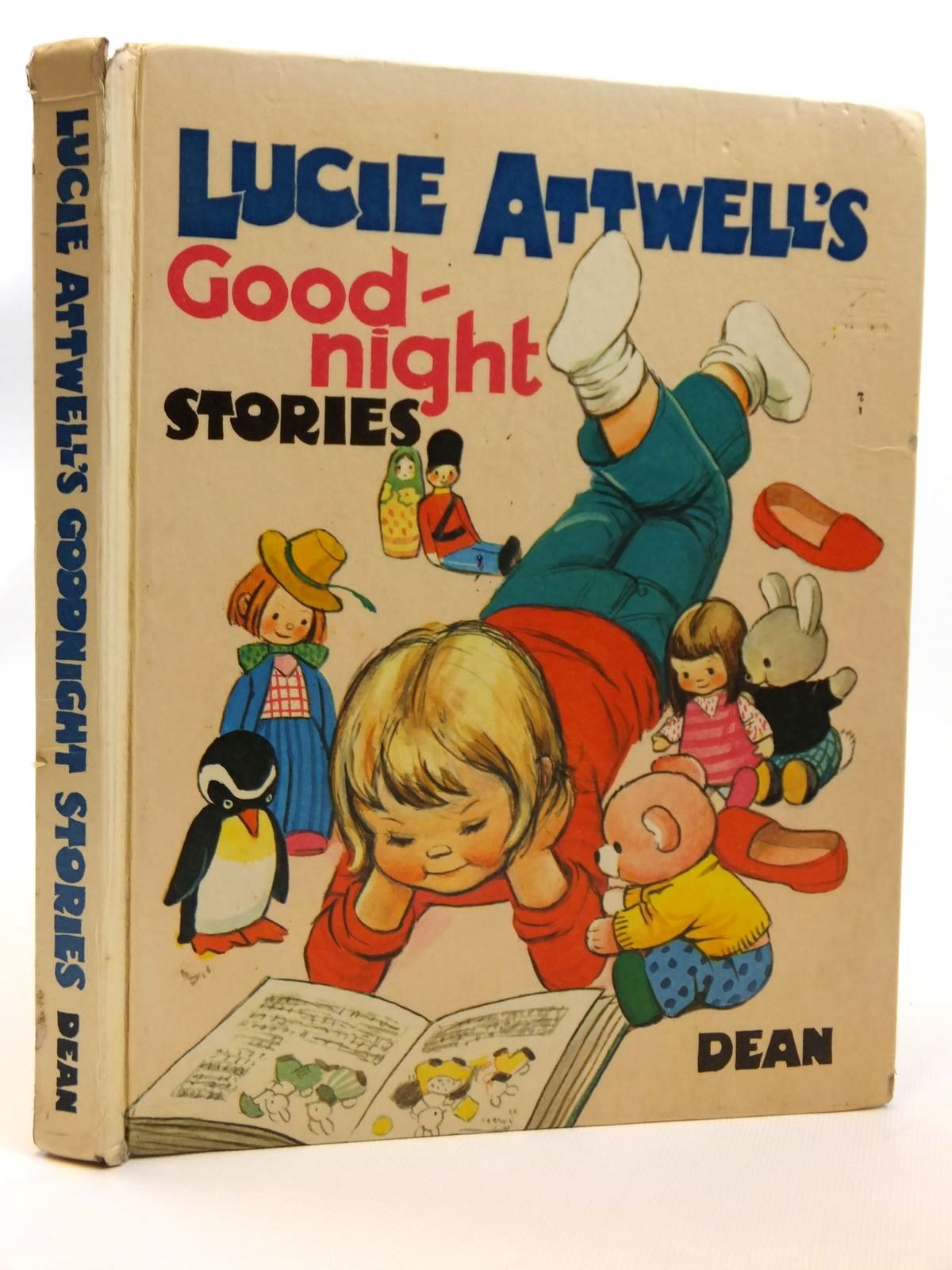 Photo of LUCIE ATTWELL'S GOOD-NIGHT STORIES written by Attwell, Mabel Lucie<br />Dowle, Barbara<br />Close, Eunice<br />Douglas, Penelope<br />et al,  illustrated by Attwell, Mabel Lucie published by Dean & Son Ltd. (STOCK CODE: 2121465)  for sale by Stella & Rose's Books