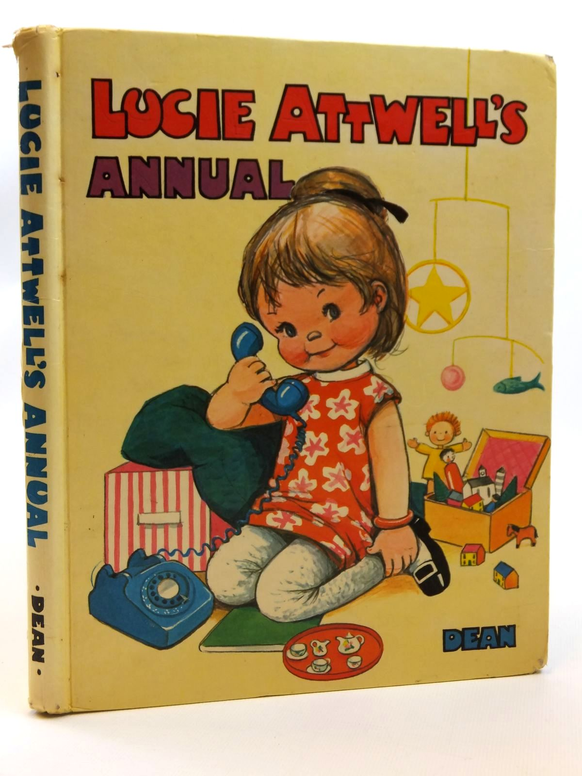 Photo of LUCIE ATTWELL'S ANNUAL 1969 written by Attwell, Mabel Lucie illustrated by Attwell, Mabel Lucie published by Dean & Son Ltd. (STOCK CODE: 2121466)  for sale by Stella & Rose's Books