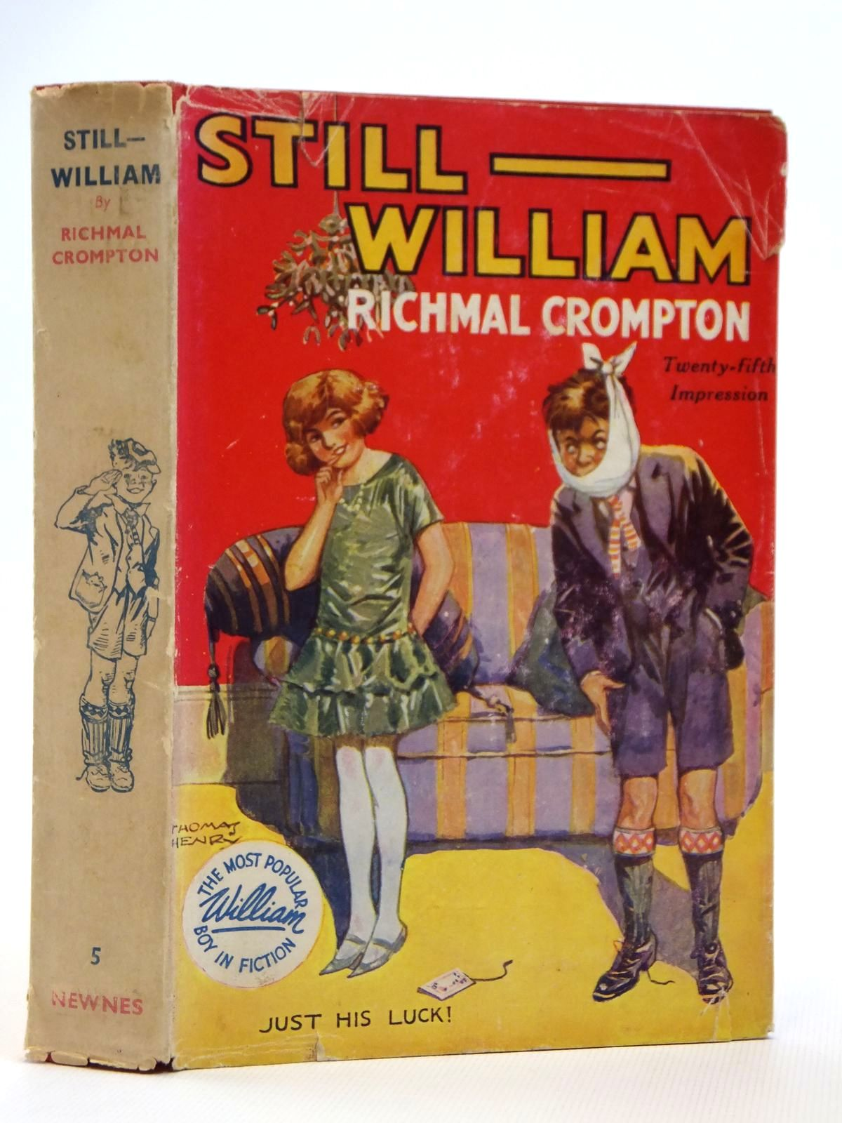 Photo of STILL WILLIAM written by Crompton, Richmal illustrated by Henry, Thomas published by George Newnes Limited (STOCK CODE: 2121500)  for sale by Stella & Rose's Books