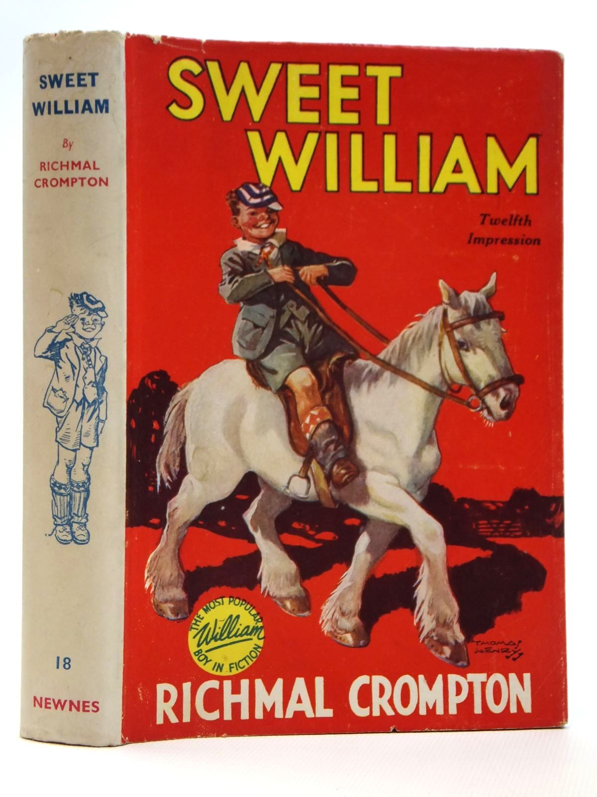 Photo of SWEET WILLIAM written by Crompton, Richmal illustrated by Henry, Thomas published by George Newnes Limited (STOCK CODE: 2121507)  for sale by Stella & Rose's Books