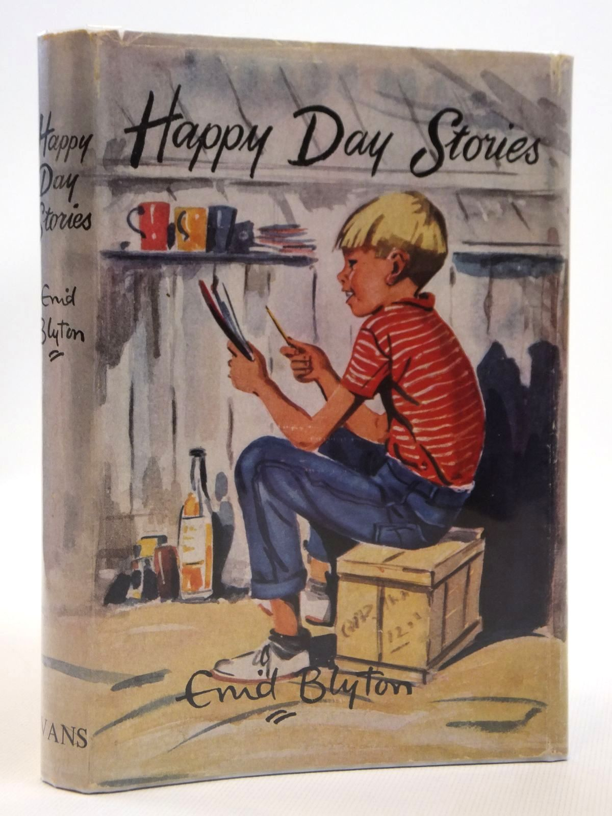 Photo of HAPPY DAY STORIES written by Blyton, Enid illustrated by Foster, Marcia Lane published by Evans Brothers Limited (STOCK CODE: 2121509)  for sale by Stella & Rose's Books
