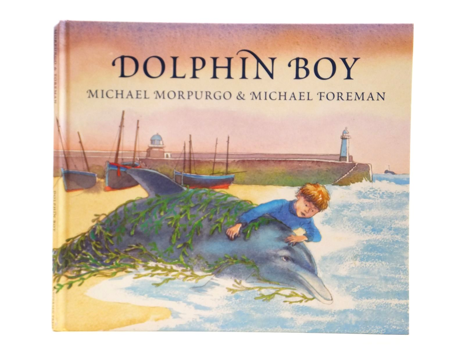 Photo of DOLPHIN BOY written by Morpurgo, Michael illustrated by Foreman, Michael published by Andersen Press (STOCK CODE: 2121581)  for sale by Stella & Rose's Books