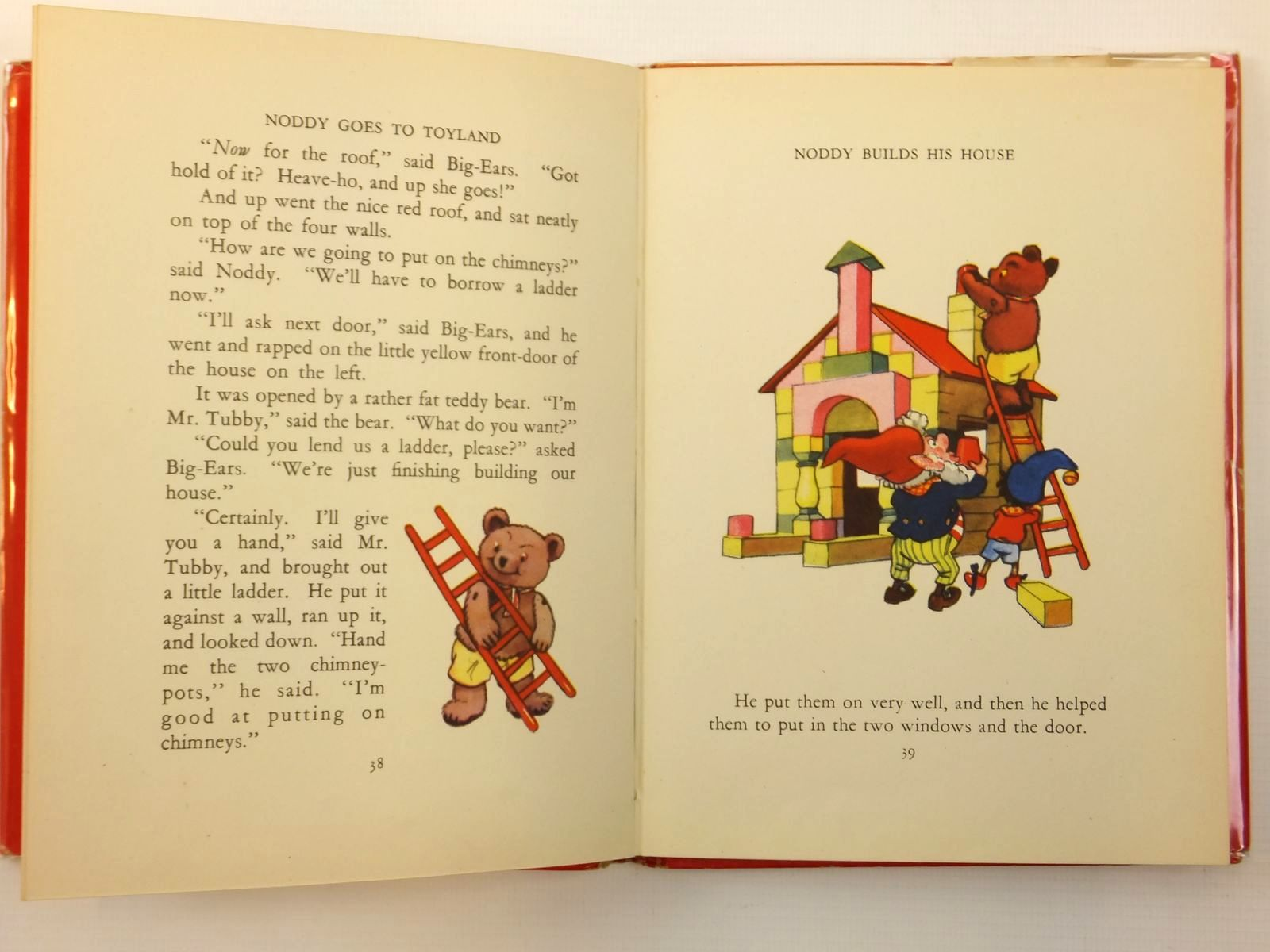 Photo of NODDY GOES TO TOYLAND written by Blyton, Enid illustrated by Beek,  published by Sampson Low, Marston & Co. Ltd. (STOCK CODE: 2121844)  for sale by Stella & Rose's Books