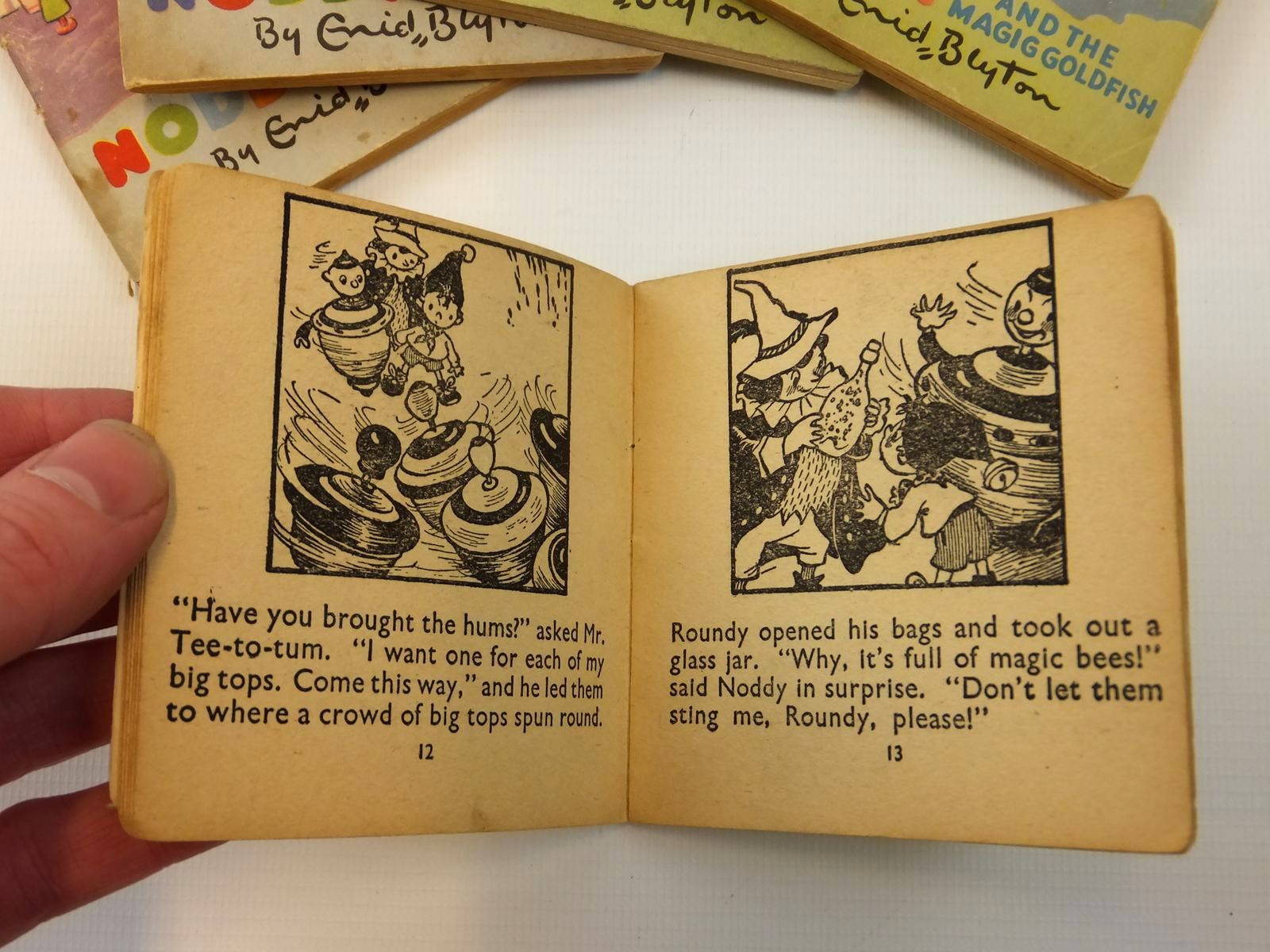 Photo of NODDY'S CASTLE OF BOOKS written by Blyton, Enid illustrated by Beek,  published by Sampson Low, Marston & Co. Ltd., C.A. Publications Ltd. (STOCK CODE: 2121855)  for sale by Stella & Rose's Books