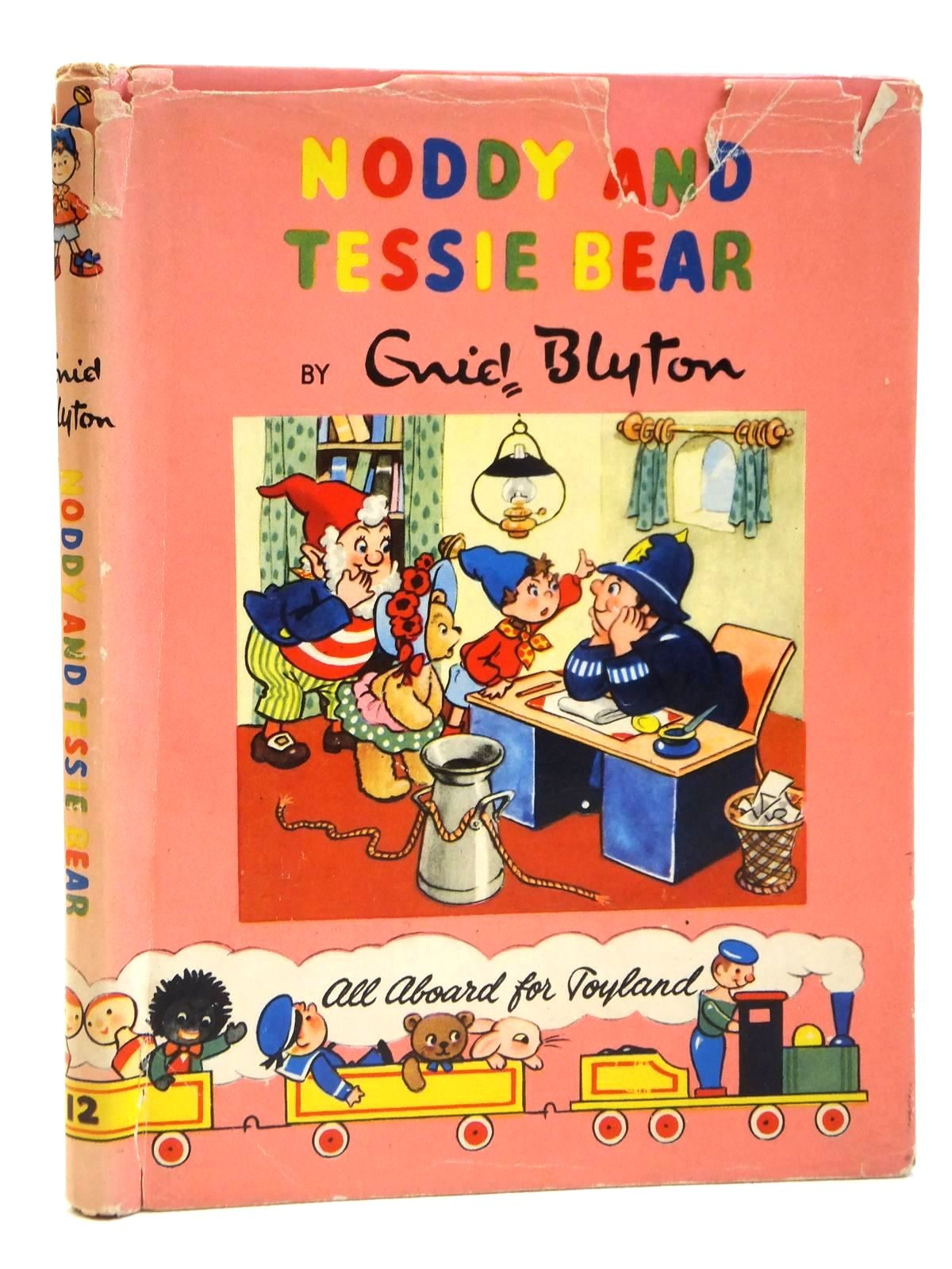 Photo of NODDY AND TESSIE BEAR written by Blyton, Enid illustrated by Lee, Robert published by Sampson Low, Marston & Co. Ltd., Dennis Dobson Ltd. (STOCK CODE: 2121890)  for sale by Stella & Rose's Books