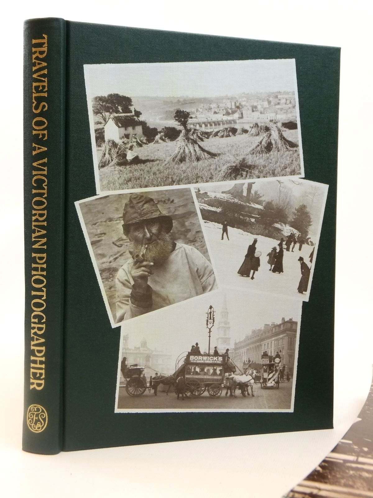 Photo of TRAVELS OF A VICTORIAN PHOTOGRAPHER written by Hudson, Roger illustrated by Frith, Francis published by Folio Society (STOCK CODE: 2122007)  for sale by Stella & Rose's Books