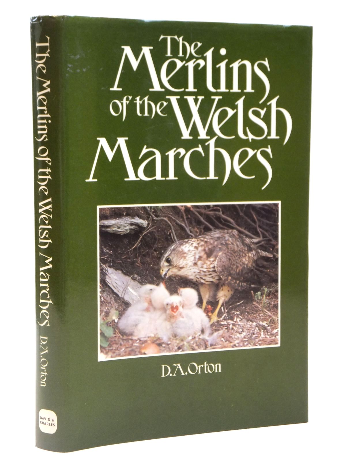 Photo of THE MERLINS OF THE WELSH MARCHES written by Orton, D.A. published by David & Charles (STOCK CODE: 2122026)  for sale by Stella & Rose's Books