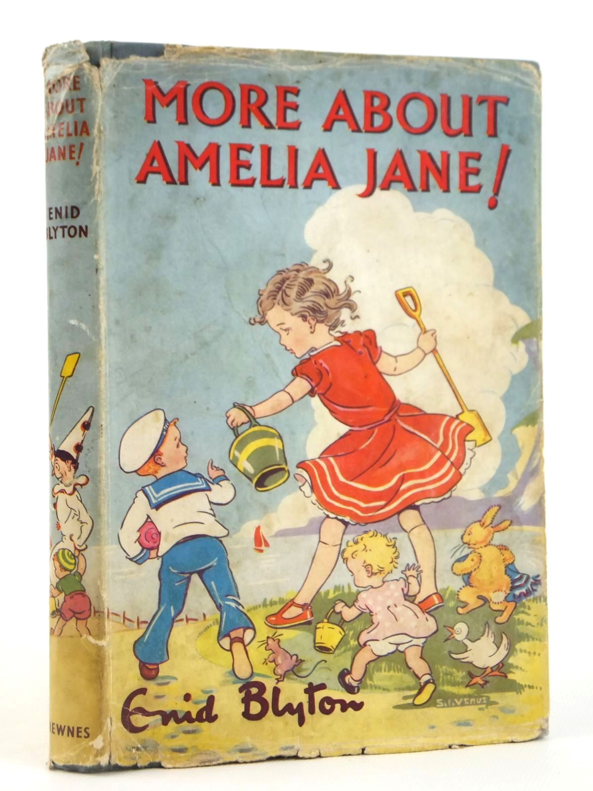 Photo of MORE ABOUT AMELIA JANE! written by Blyton, Enid illustrated by Venus, Sylvia published by George Newnes Limited (STOCK CODE: 2122040)  for sale by Stella & Rose's Books