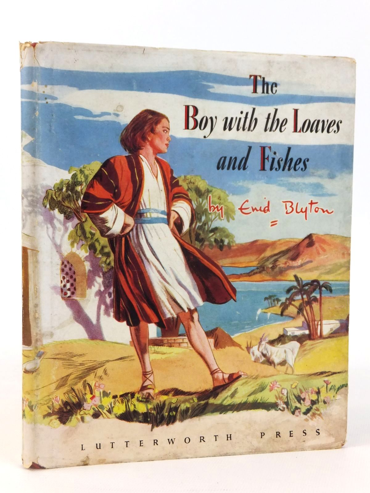 Photo of THE BOY WITH THE LOAVES AND FISHES written by Blyton, Enid illustrated by Walker, Elsie published by Lutterworth Press (STOCK CODE: 2122081)  for sale by Stella & Rose's Books