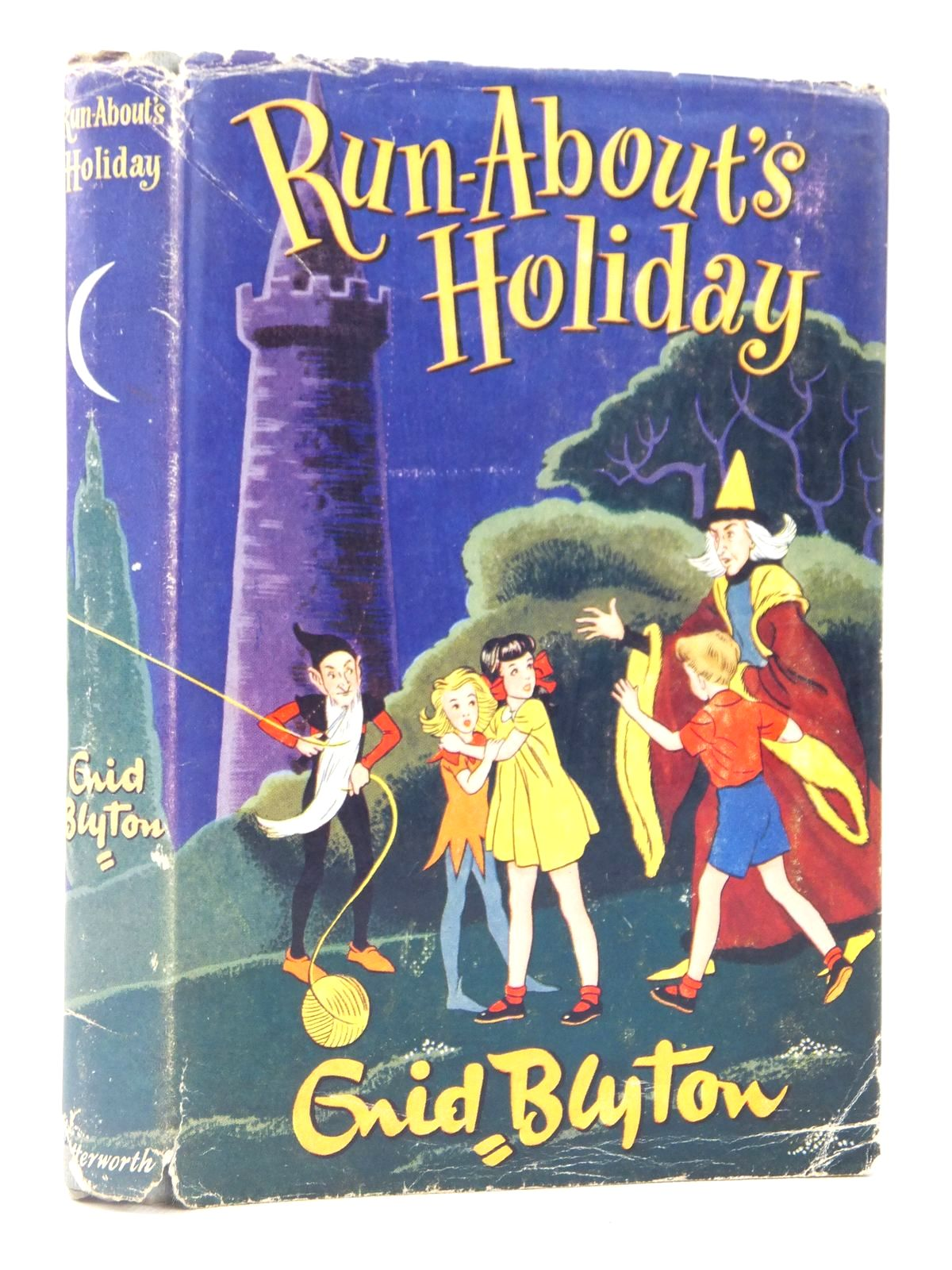 Photo of RUN-ABOUT'S HOLIDAY written by Blyton, Enid illustrated by Chivers, Lilian published by Lutterworth Press (STOCK CODE: 2122084)  for sale by Stella & Rose's Books