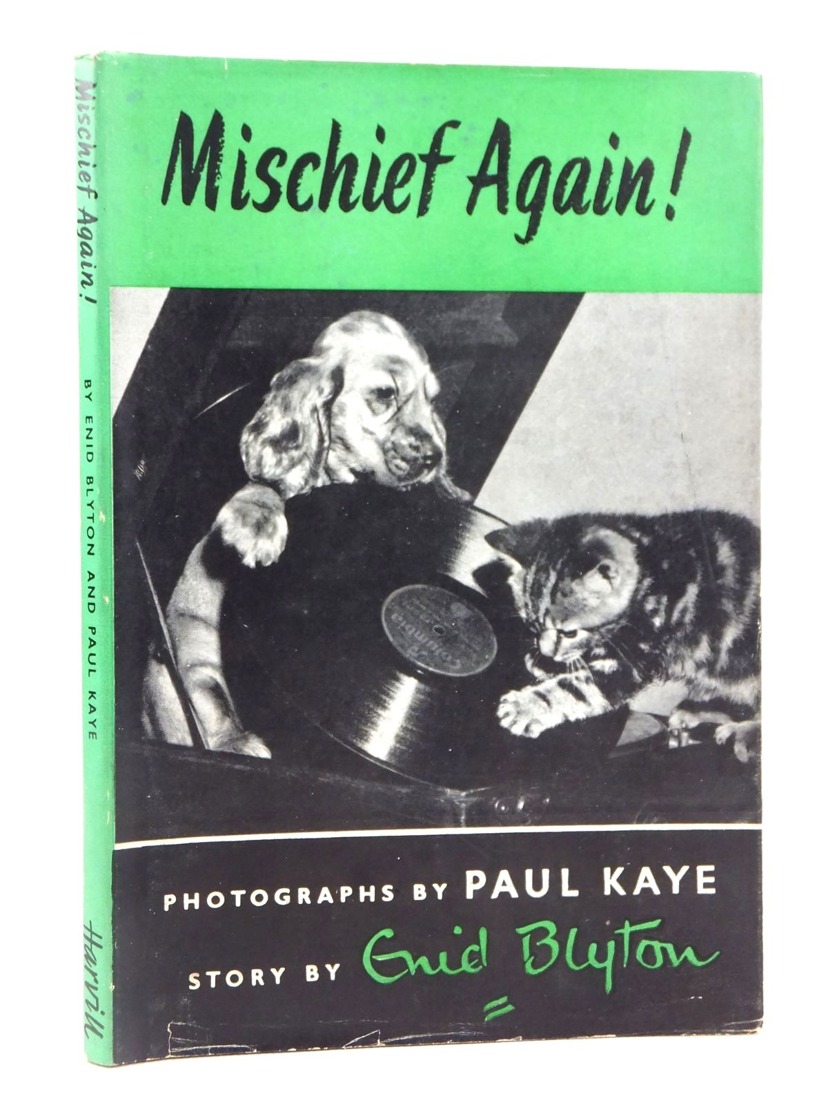 Photo of MISCHIEF AGAIN! written by Blyton, Enid illustrated by Kaye, Paul published by The Harvill Press (STOCK CODE: 2122093)  for sale by Stella & Rose's Books